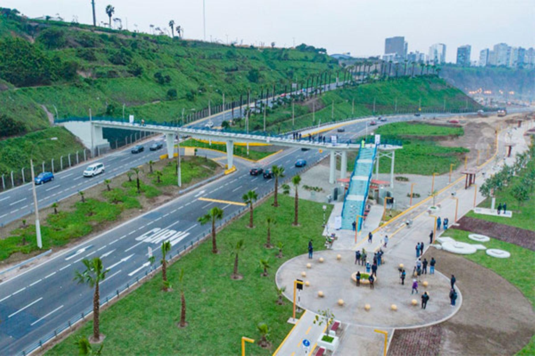 Costa Verde: Municipalidad de Lima entrega puentes peatonales renovados
