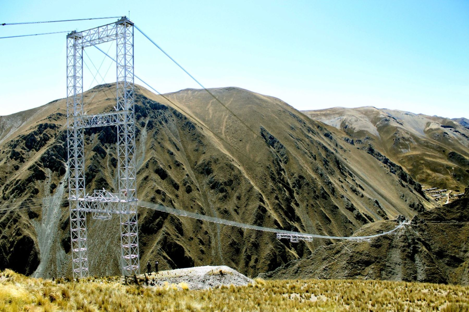 Región Lima: antiguo puente Chumpe en Yauyos será desmantelado por deterioro
