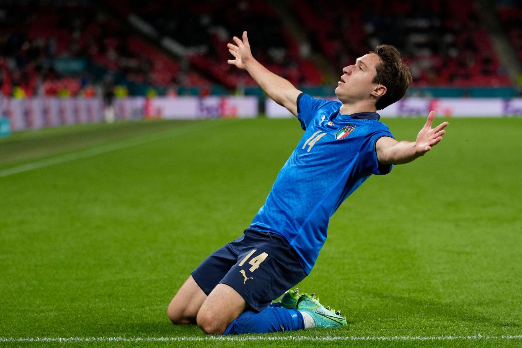 Primer tiempo: Italia y España igualan a cero goles en Wembley