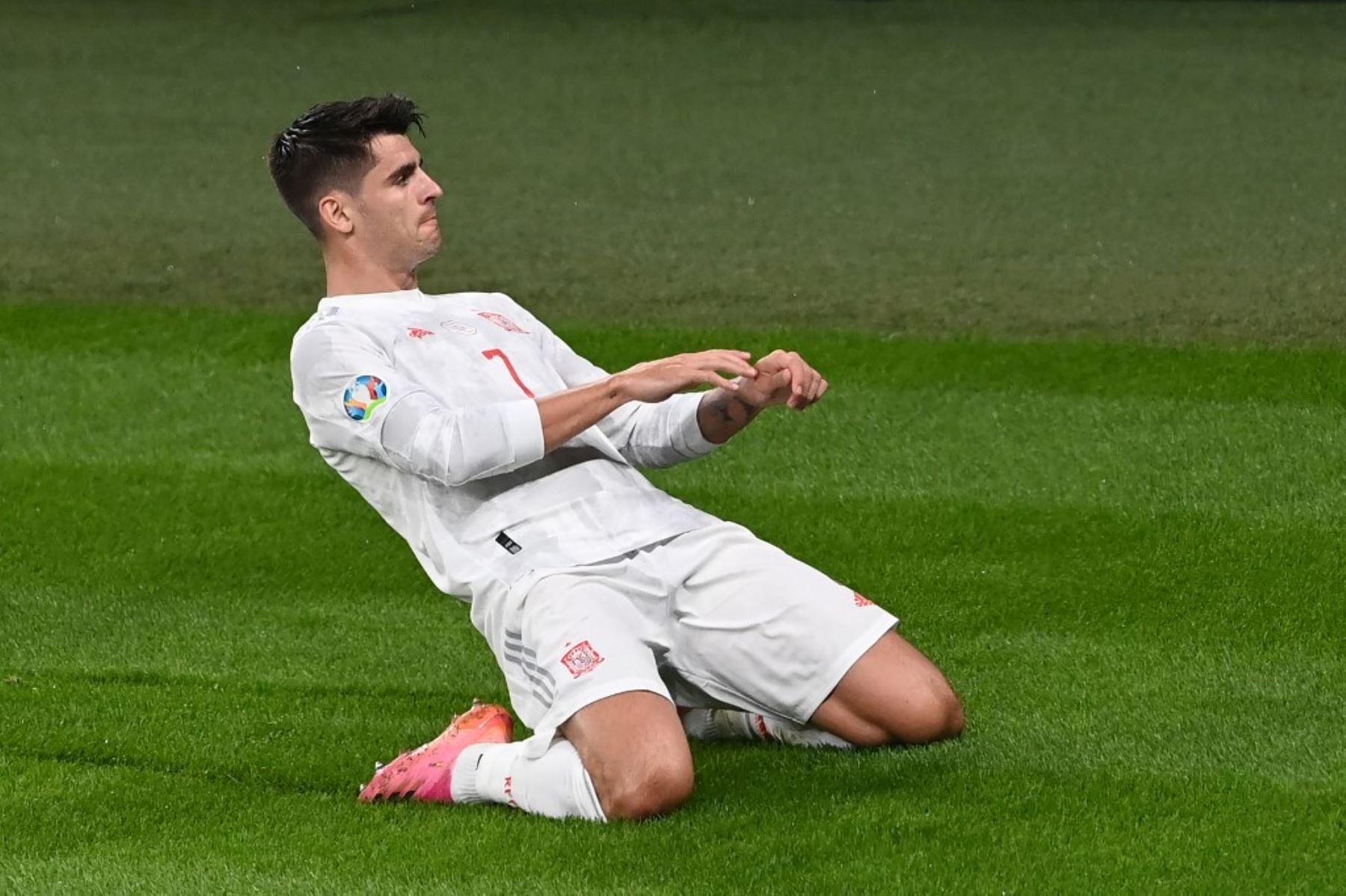 Italia empata 1-1 con  España en la prórroga en Wembley