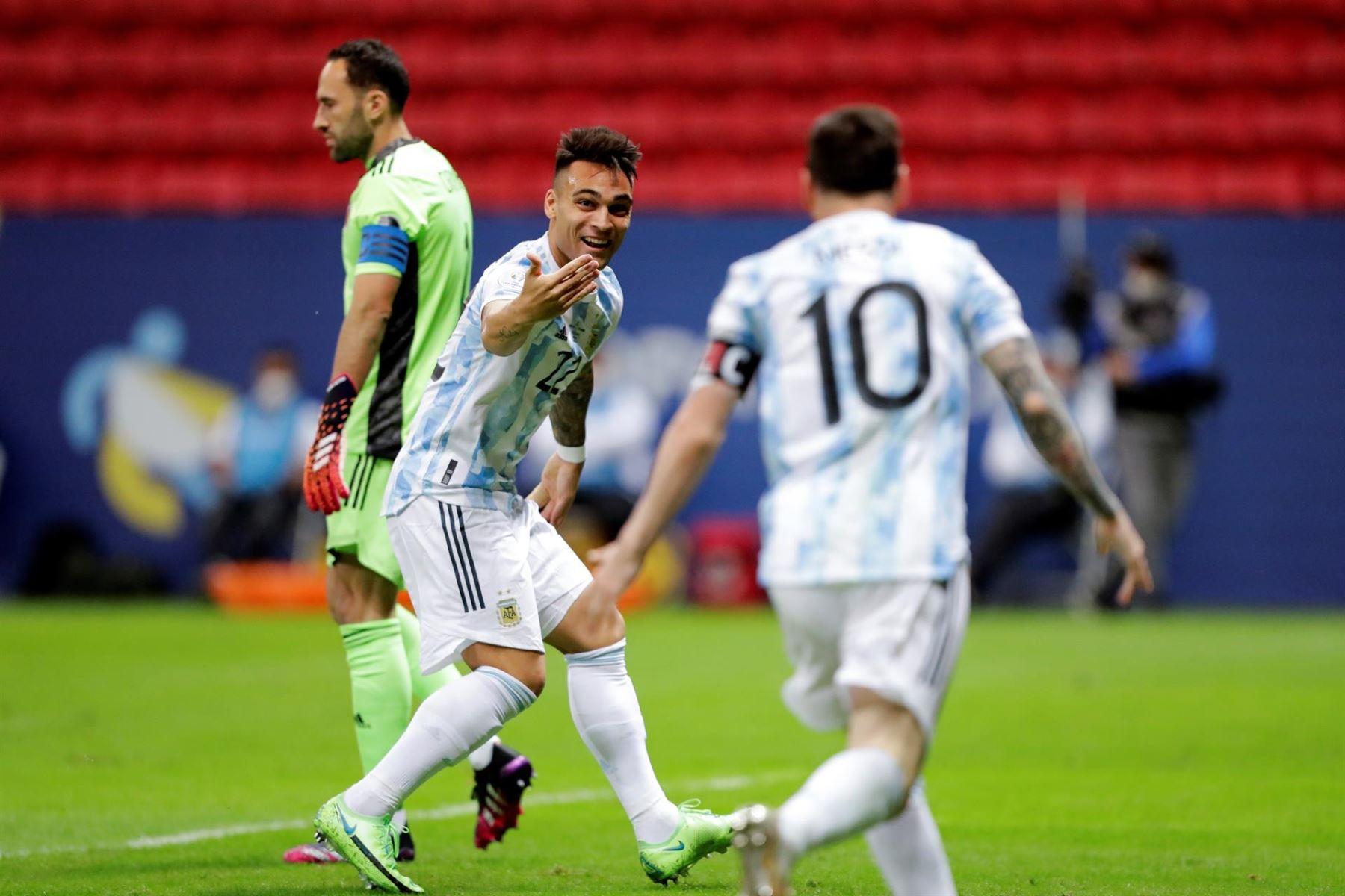 Copa América: Argentina empata 1-1 con Colombia en el segundo tiempo