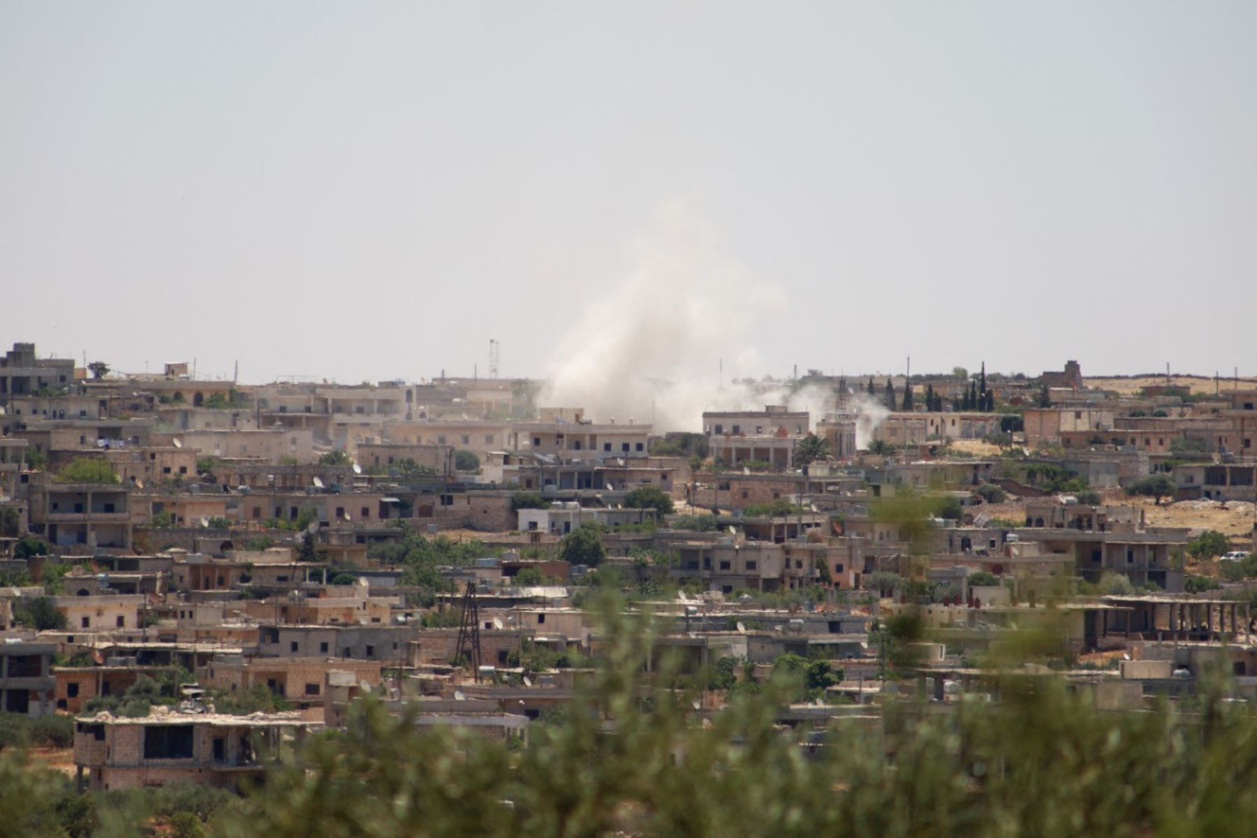 Impactan catorce cohetes en una base aérea con presencia de EE.UU. en Irak