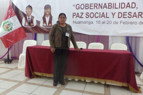 Estela Rojas labora en la Subprefectura de Antabamba, en Apurímac, desde hace 40 años. ANDINA/ Andina