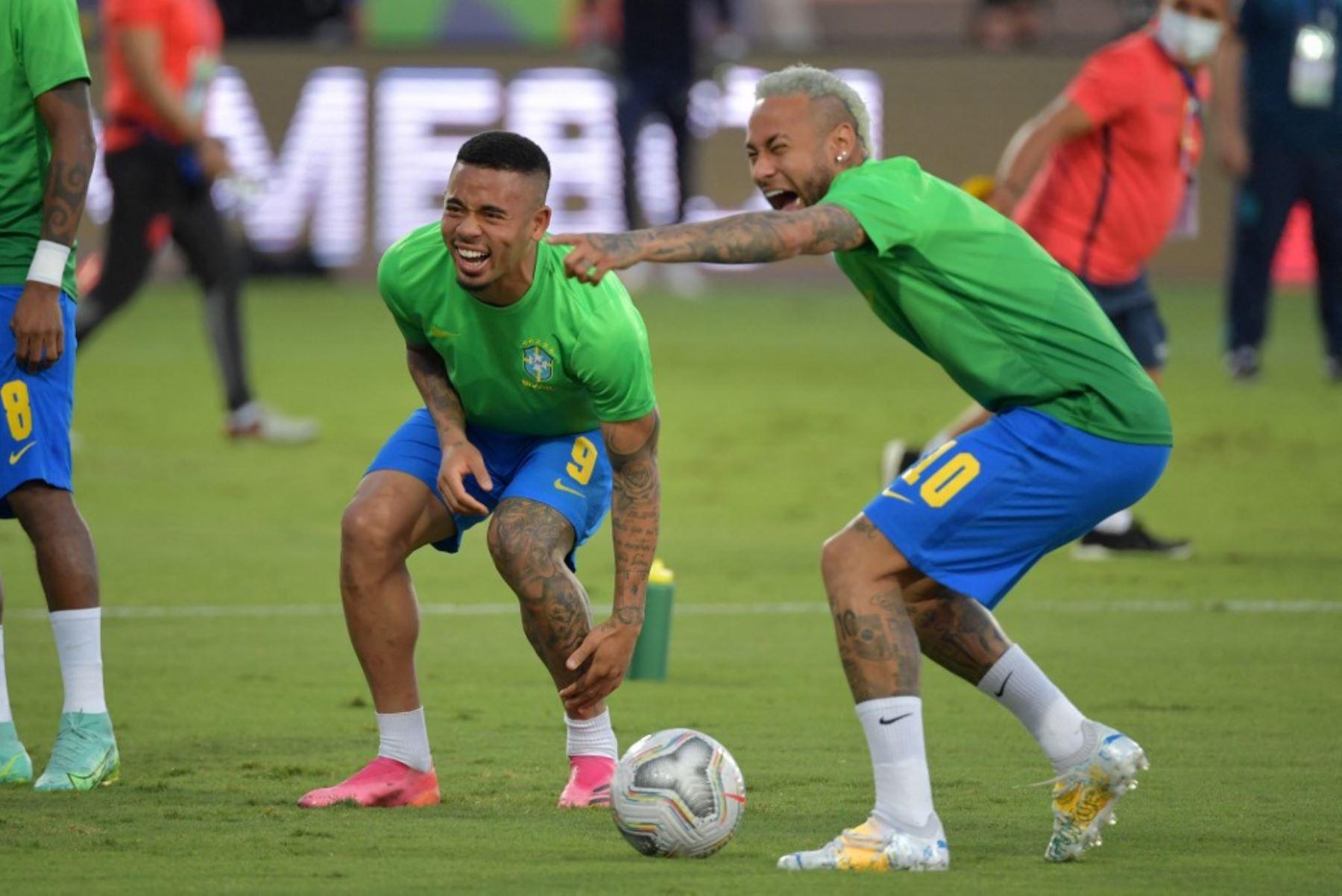 Neymar crítica a la Conmebol por suspensión a Gabriel Jesús