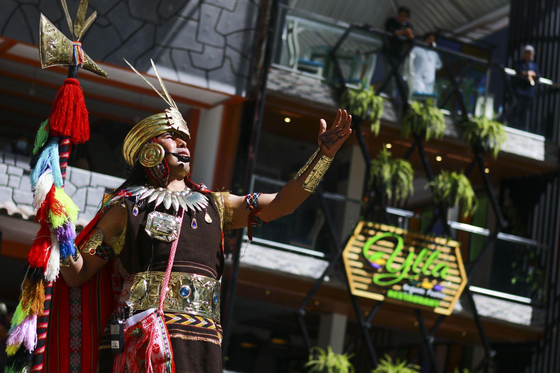 Machu Picchu: con escenificación inca se celebró su 14 aniversario como maravilla mundial