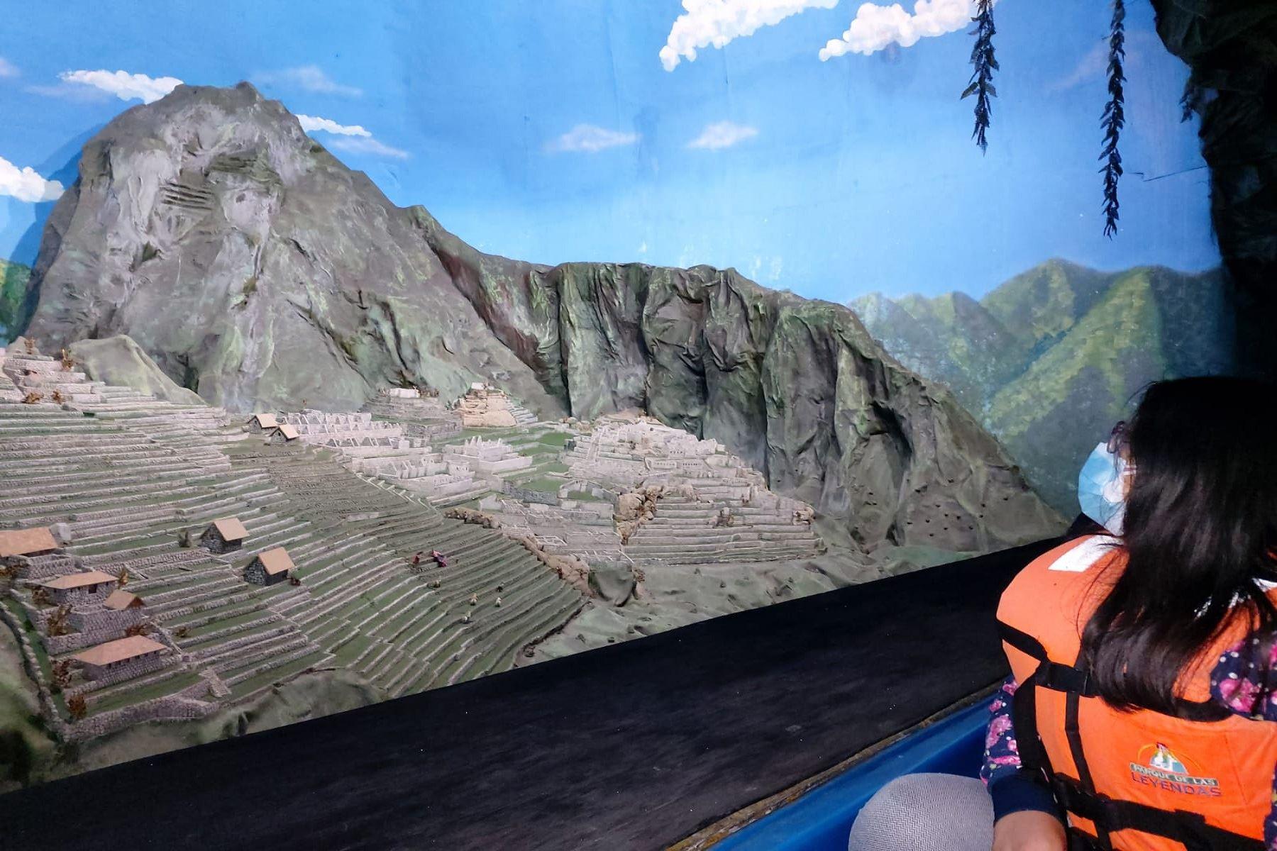 Parque de las Leyendas: conoce la maravillosa réplica a escala de Machu Picchu. Foto; DIfusión