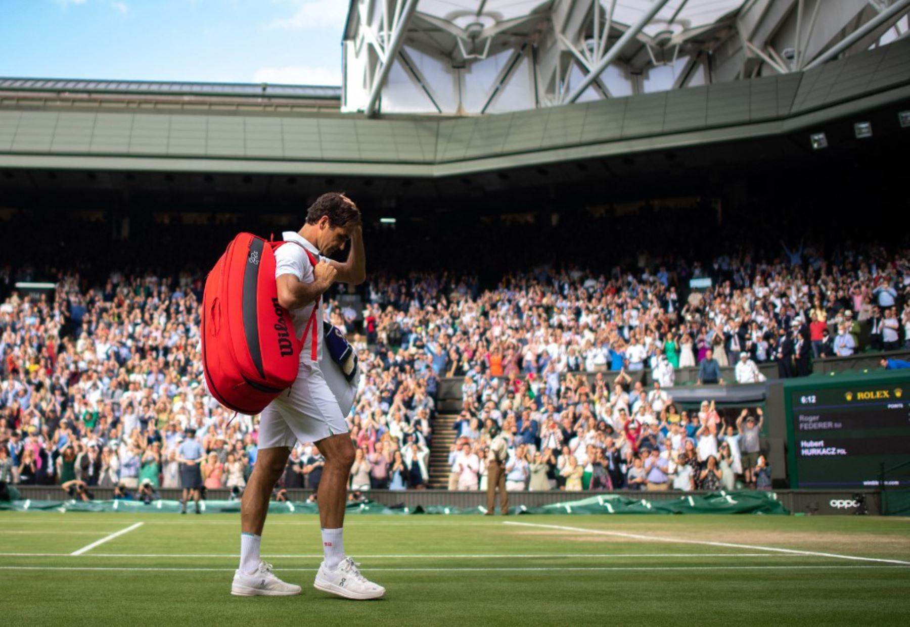 Roger Federer, eliminado de Wimbledon por Hurkacz en cuartos de final