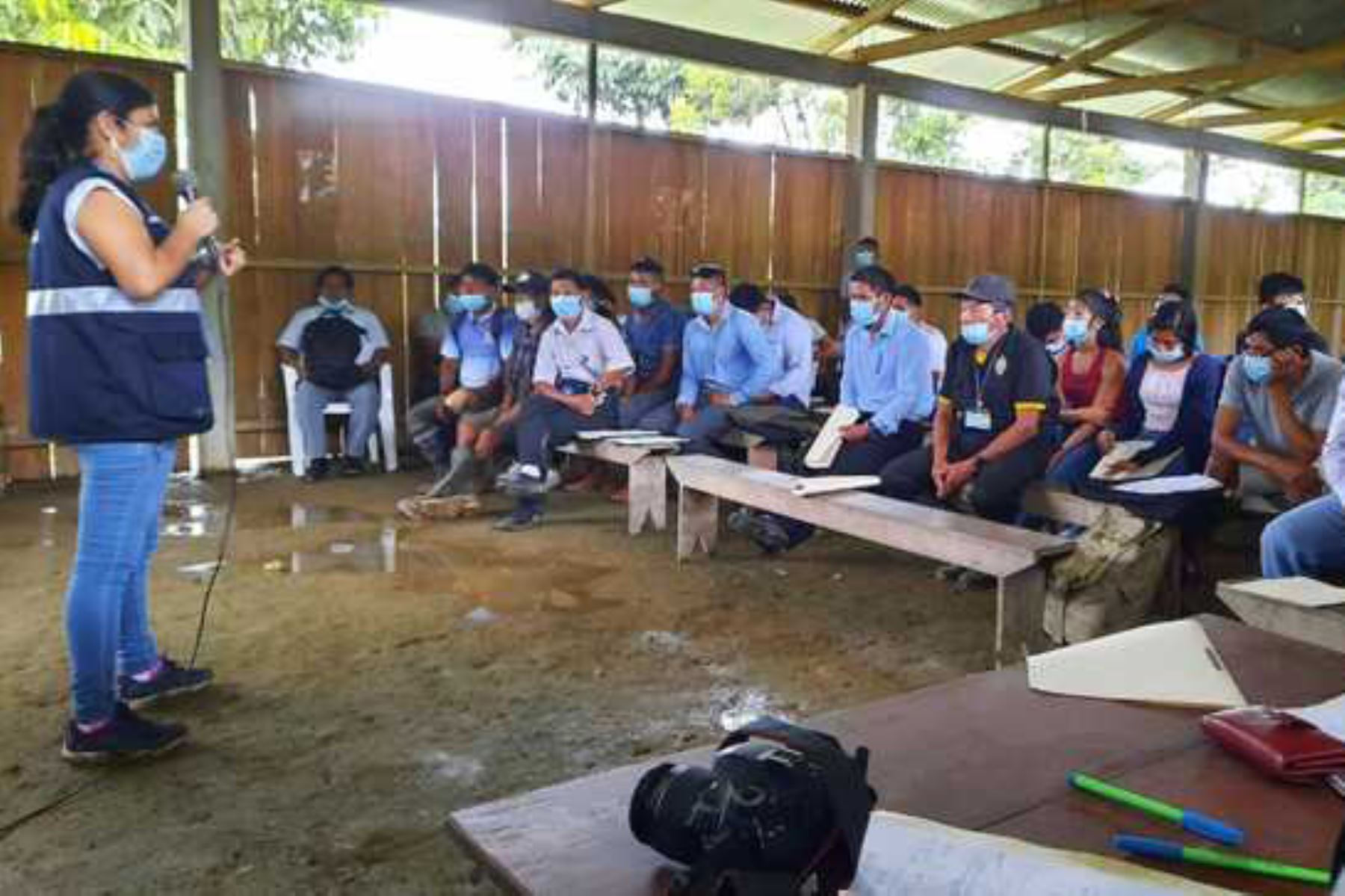 Covid-19: capacitan a personal de salud para mejorar atención a comunidades indígenas