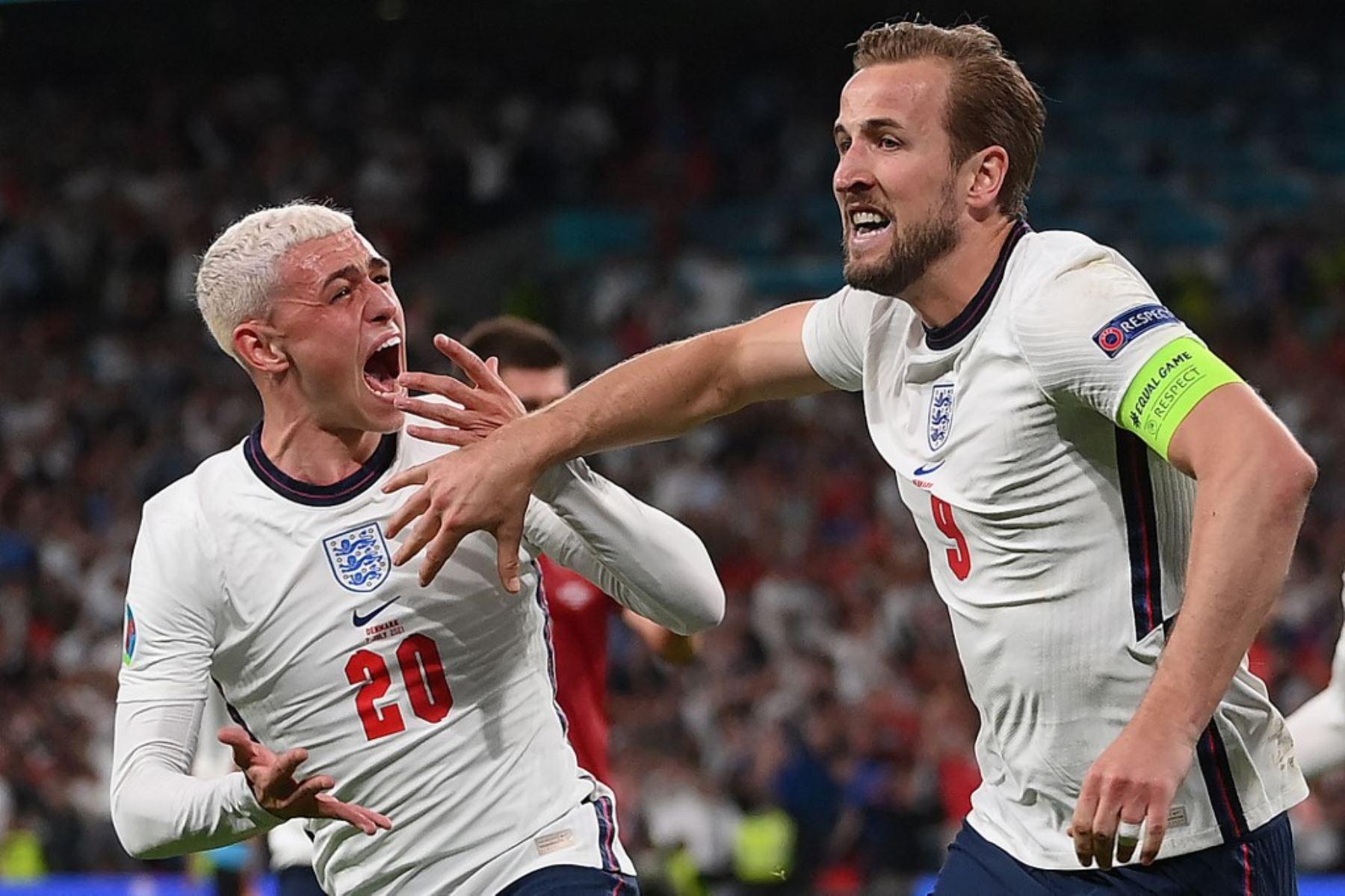 Inglaterra clasificó a la final de la Eurocopa 2020 tras derrotar 2-1 a Dinamarca.