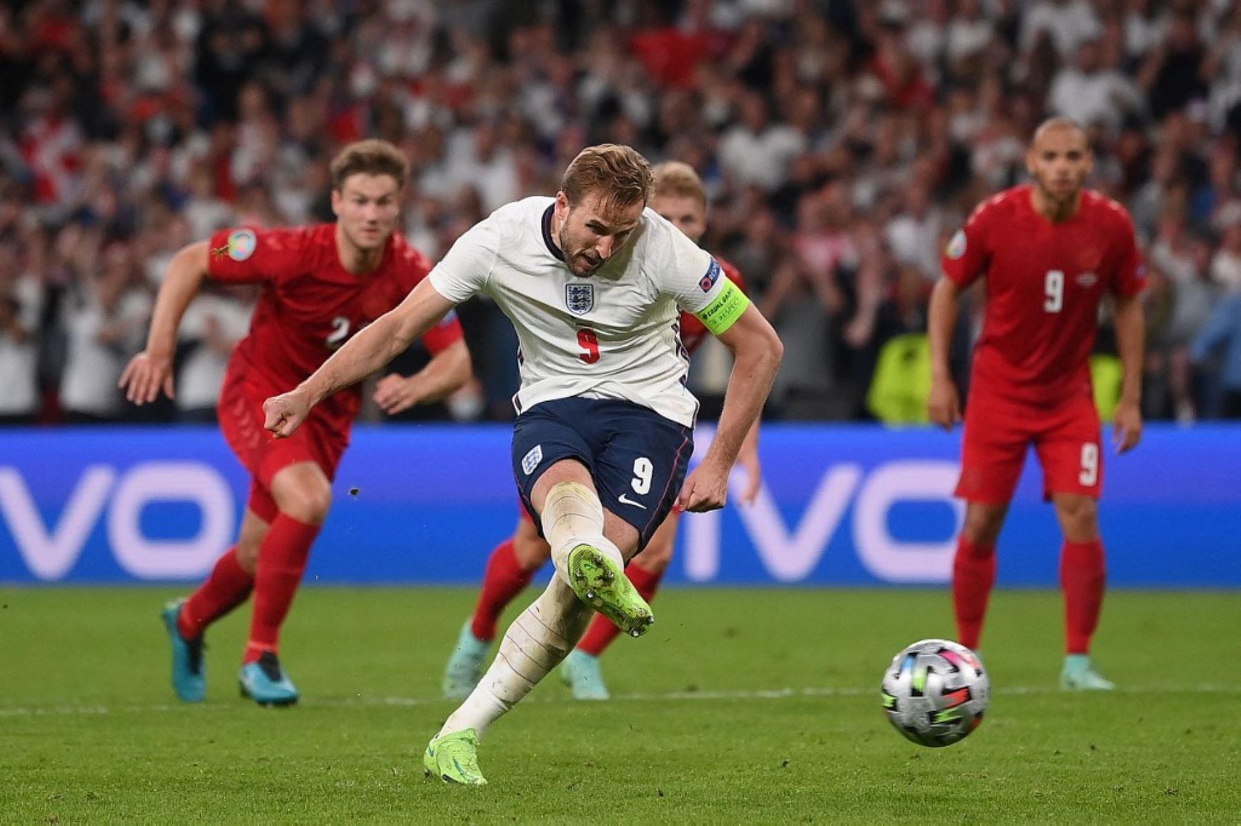 Italia-Inglaterra, ya  final soñada que buscaba el estadio de Wembley
