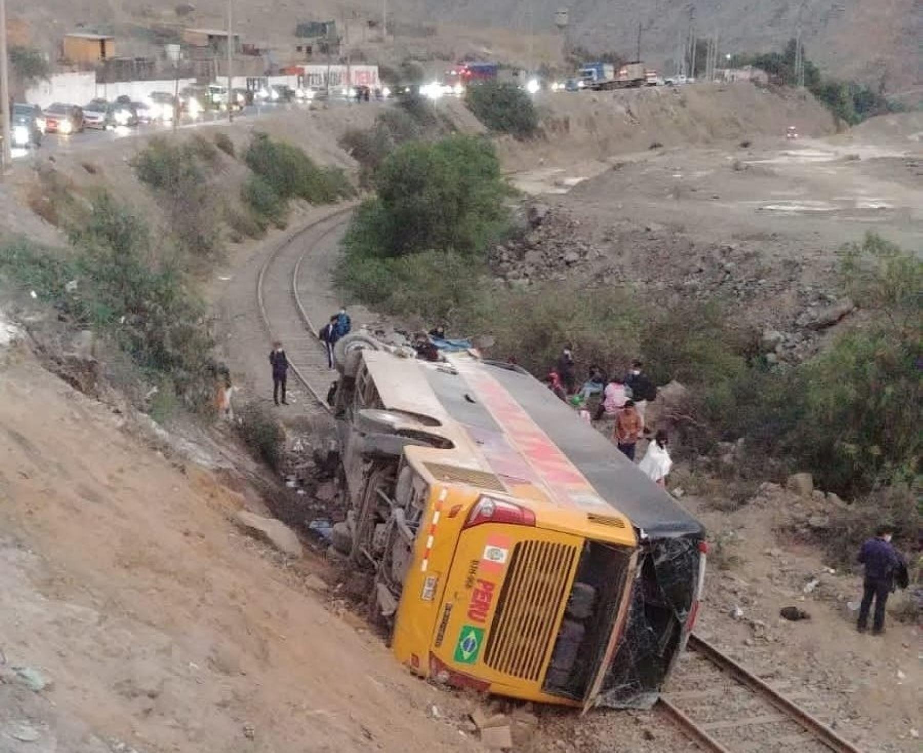 Carretera Central: Sutran investiga accidente en Huarochirí para determinar sanciones