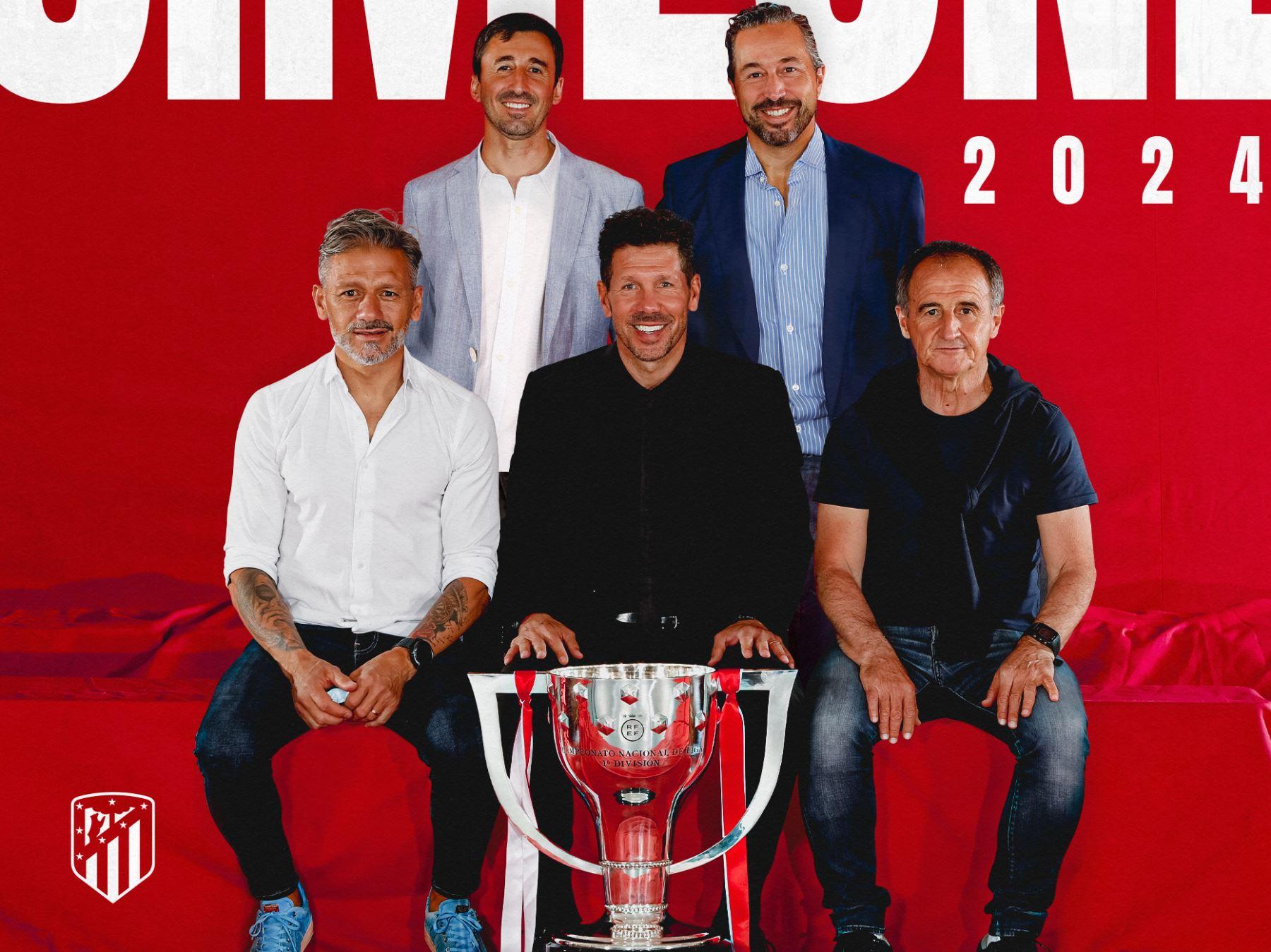 Simeone renueva hasta 2024 con el Atlético de Madrid