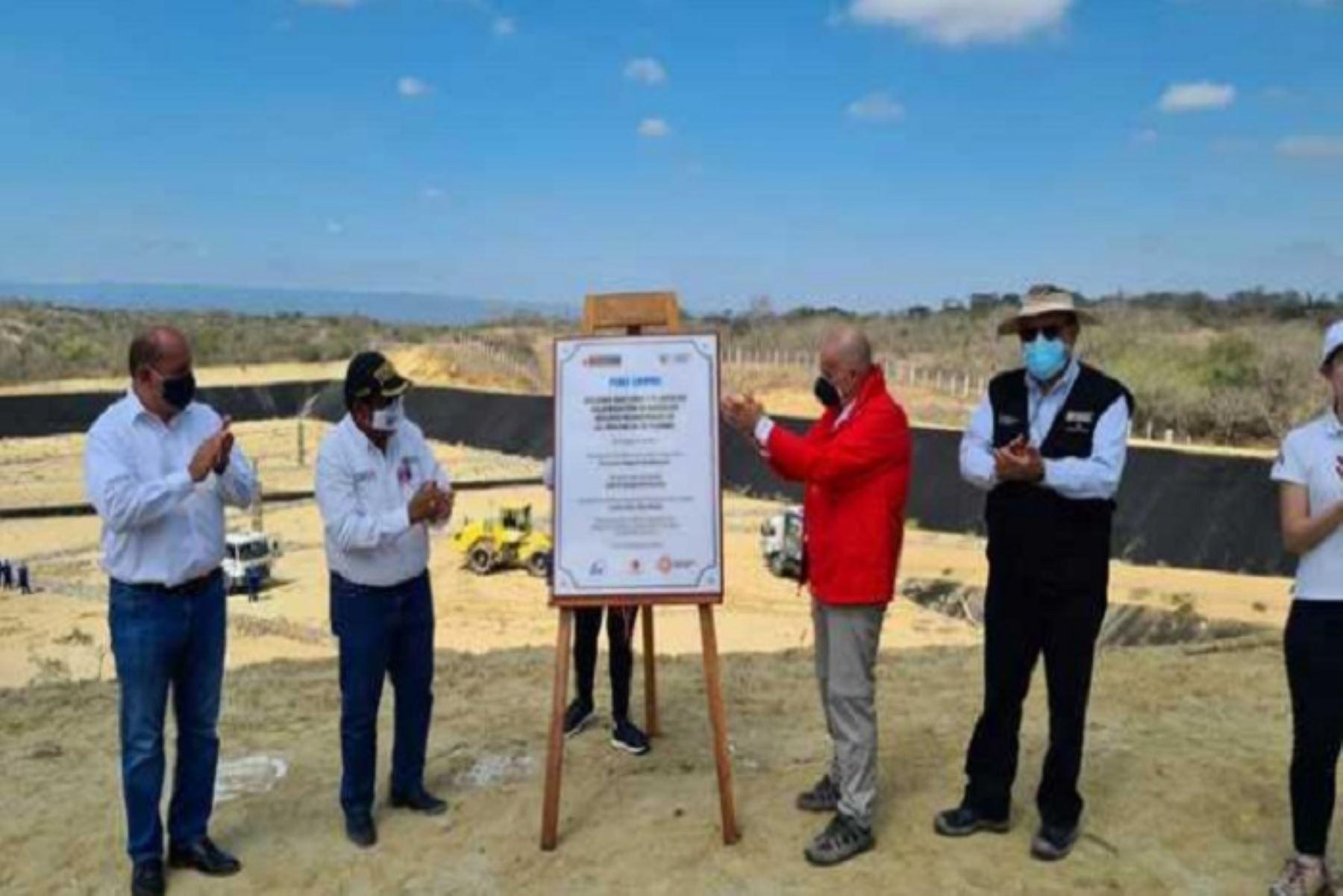 Minam inaugura relleno sanitario y planta de valorización en Tumbes
