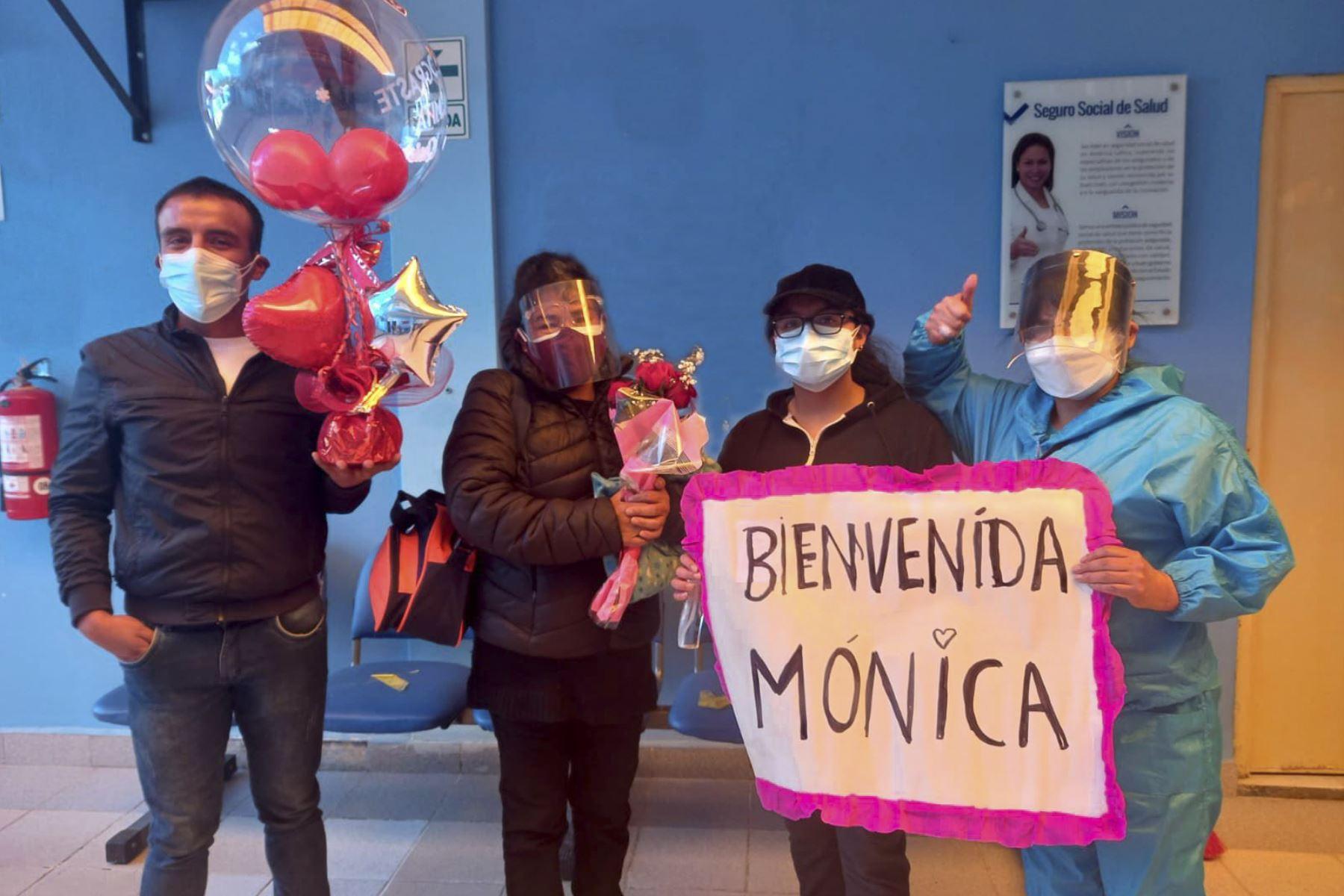 En total 78 pacientes fueron dados de alta de la Villa EsSalud Huaraz, región Áncash. Foto: ANDINA/difusión.