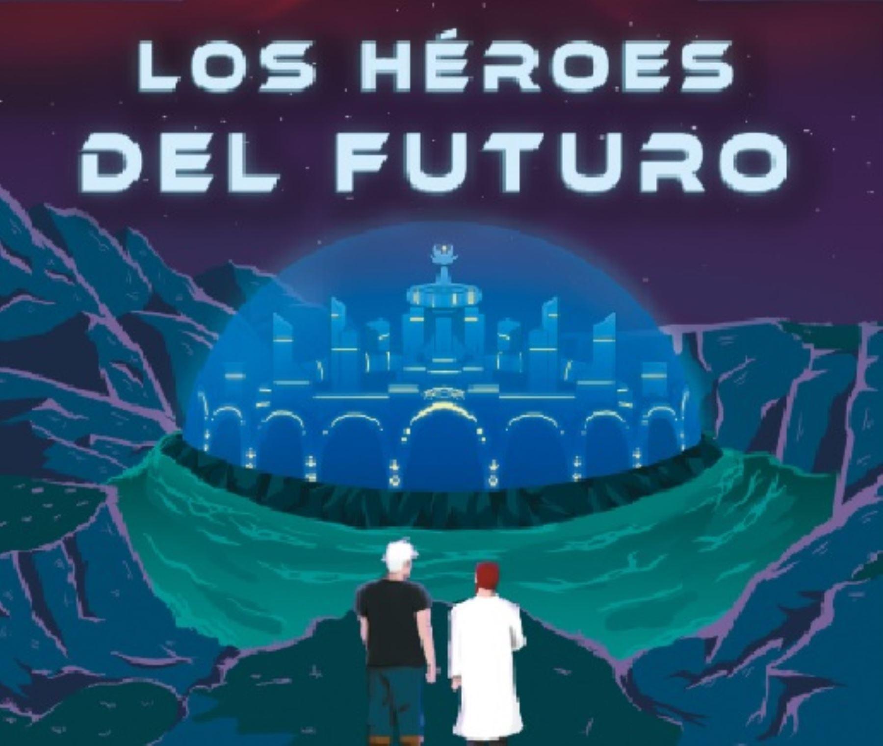 """Eduardo Leturia presenta su primer libro """"Los héroes del futuro"""""""
