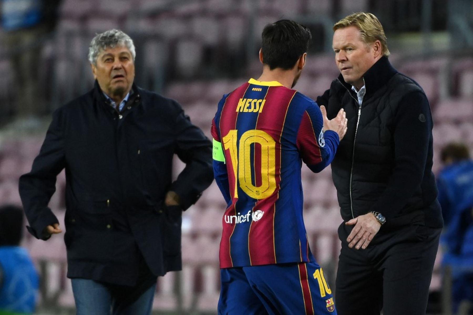 """Ronald Koeman aclara al Barcelona y dice \""""hay que estar preocupado con Messi\"""""""