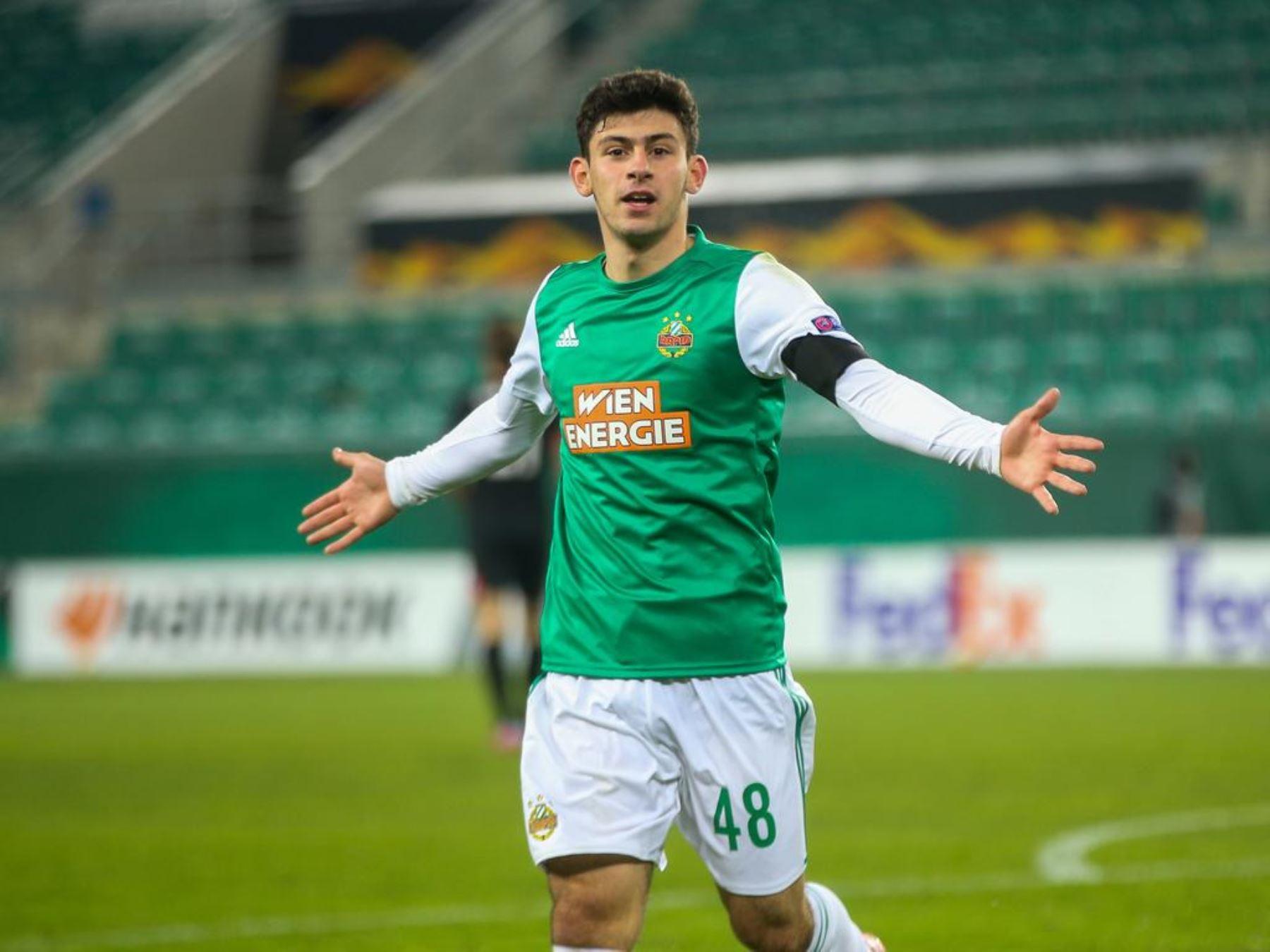 Yusur Demir es considerado el Messi Austriaco por la prensa local.