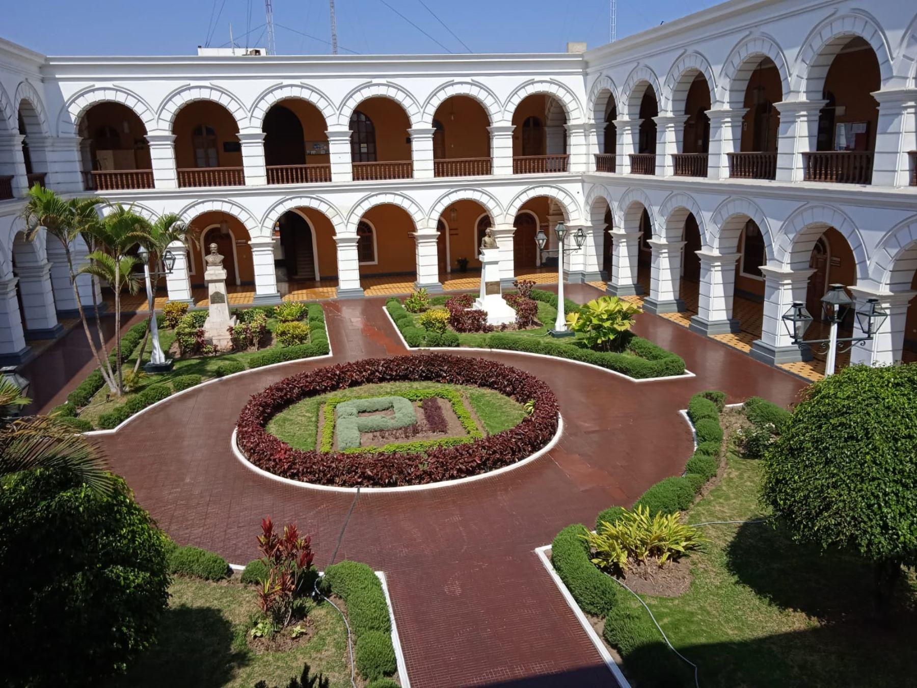 La histórica sede de la Corte Superior de La Libertad formará parte del circuito turístico de la ciudad de Trujillo. Foto: Vanessa Graos