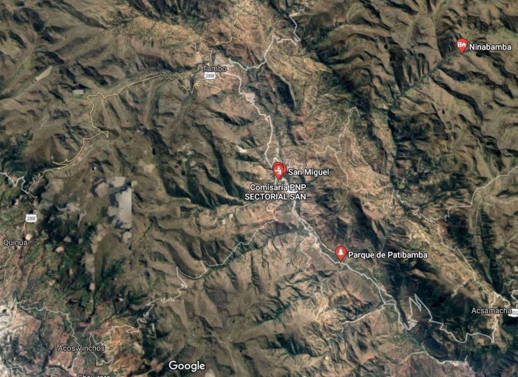 Ayacucho: sismo de magnitud 5 se registró esta mañana en el Vraem