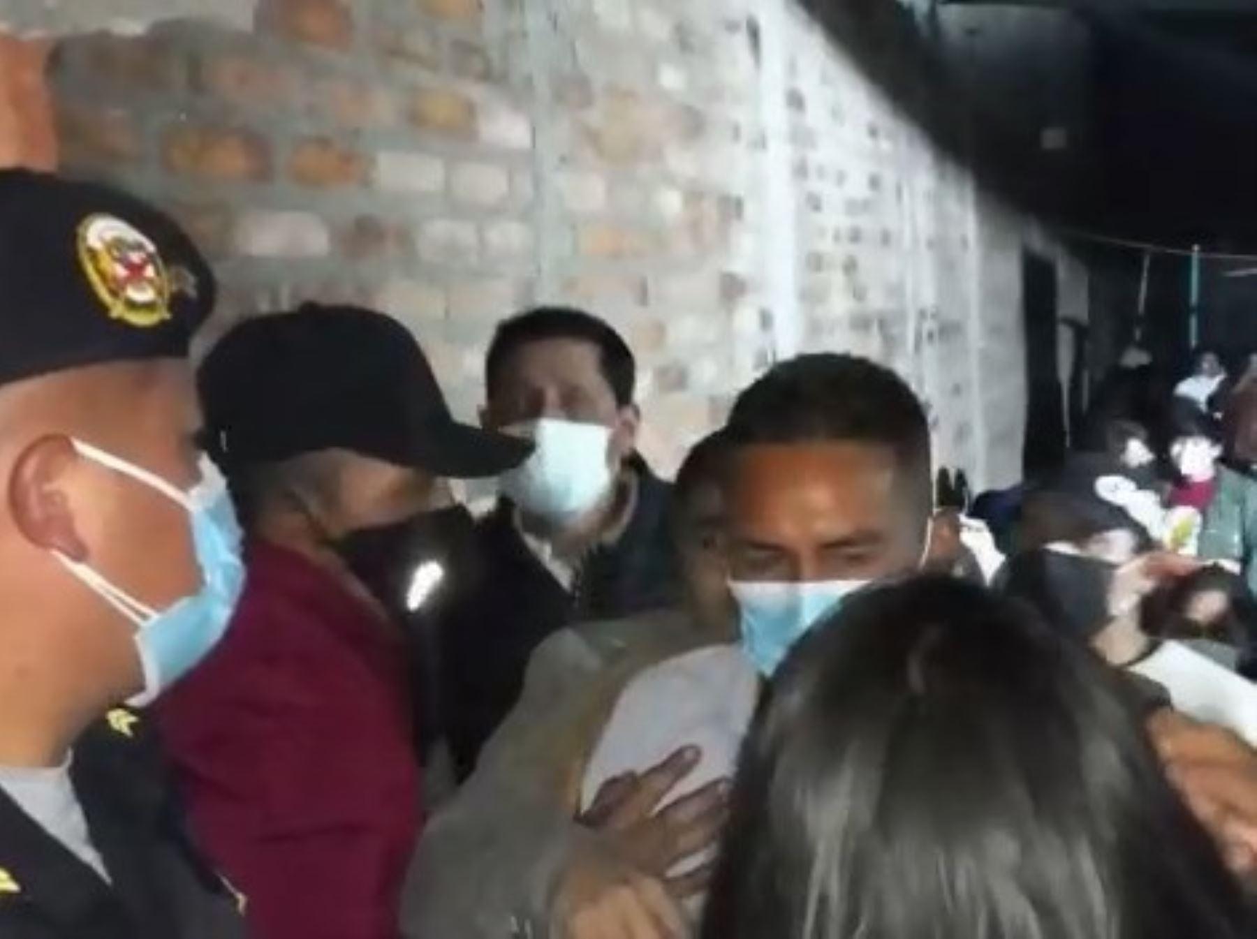 Junín: intervienen a alcalde, dos policías y otros infractores en fiesta clandestina