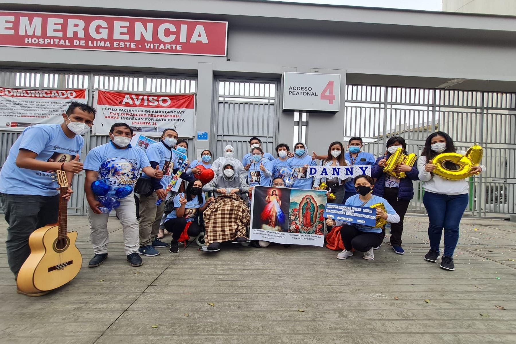Más de 5000 pacientes vencieron la covid-19 en el Hospital Emergencia Ate Vitarte