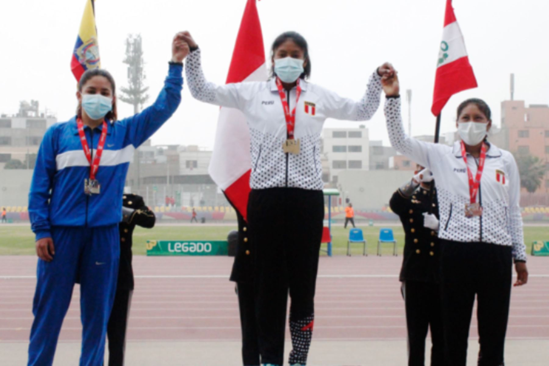 ¡Oro para Perú! Sofía Mamani fue la mejor en los 5,000 metros en Sudamericano U20