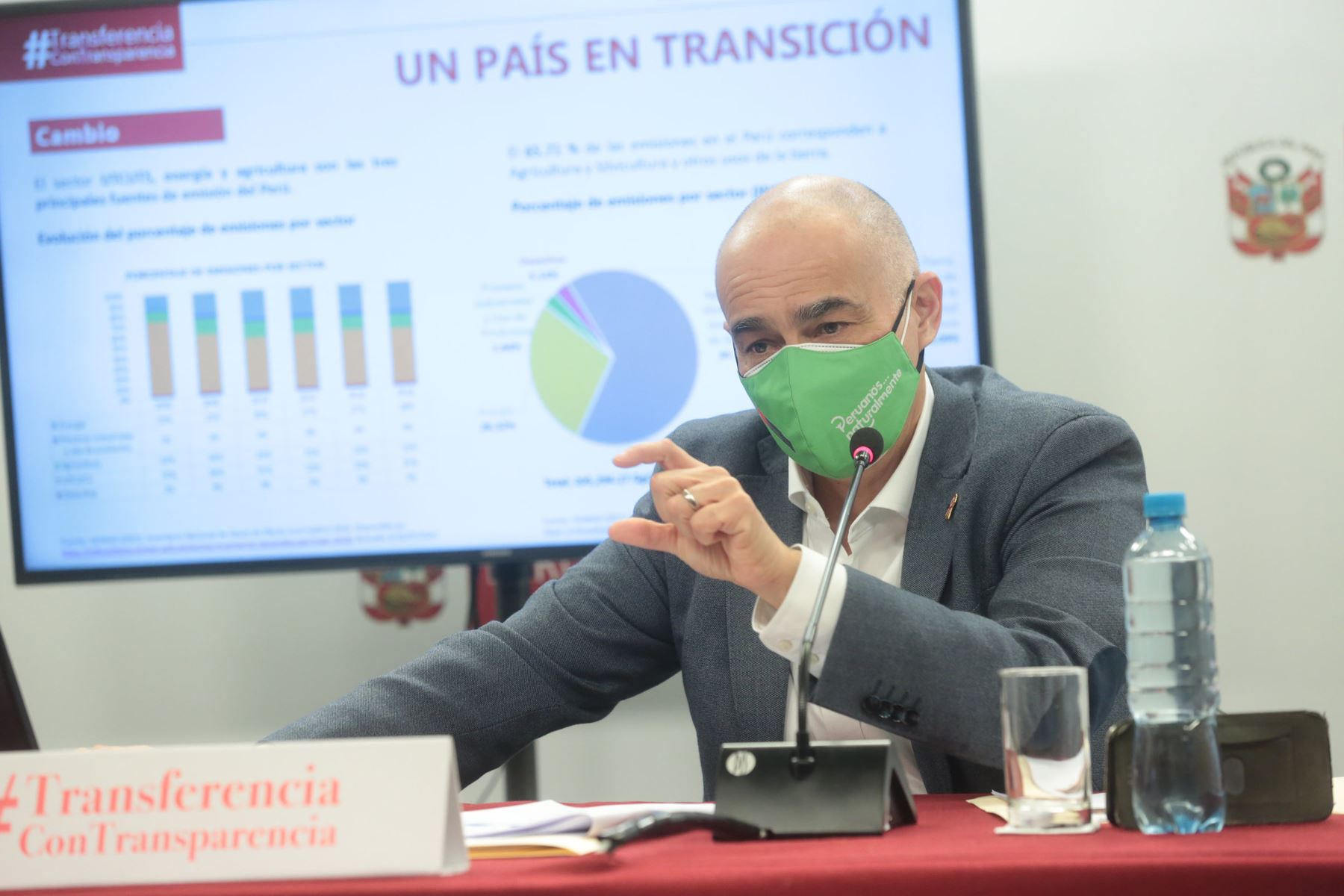 Ministro Quijandría: Dejaremos aprobada la Política Nacional del Ambiente