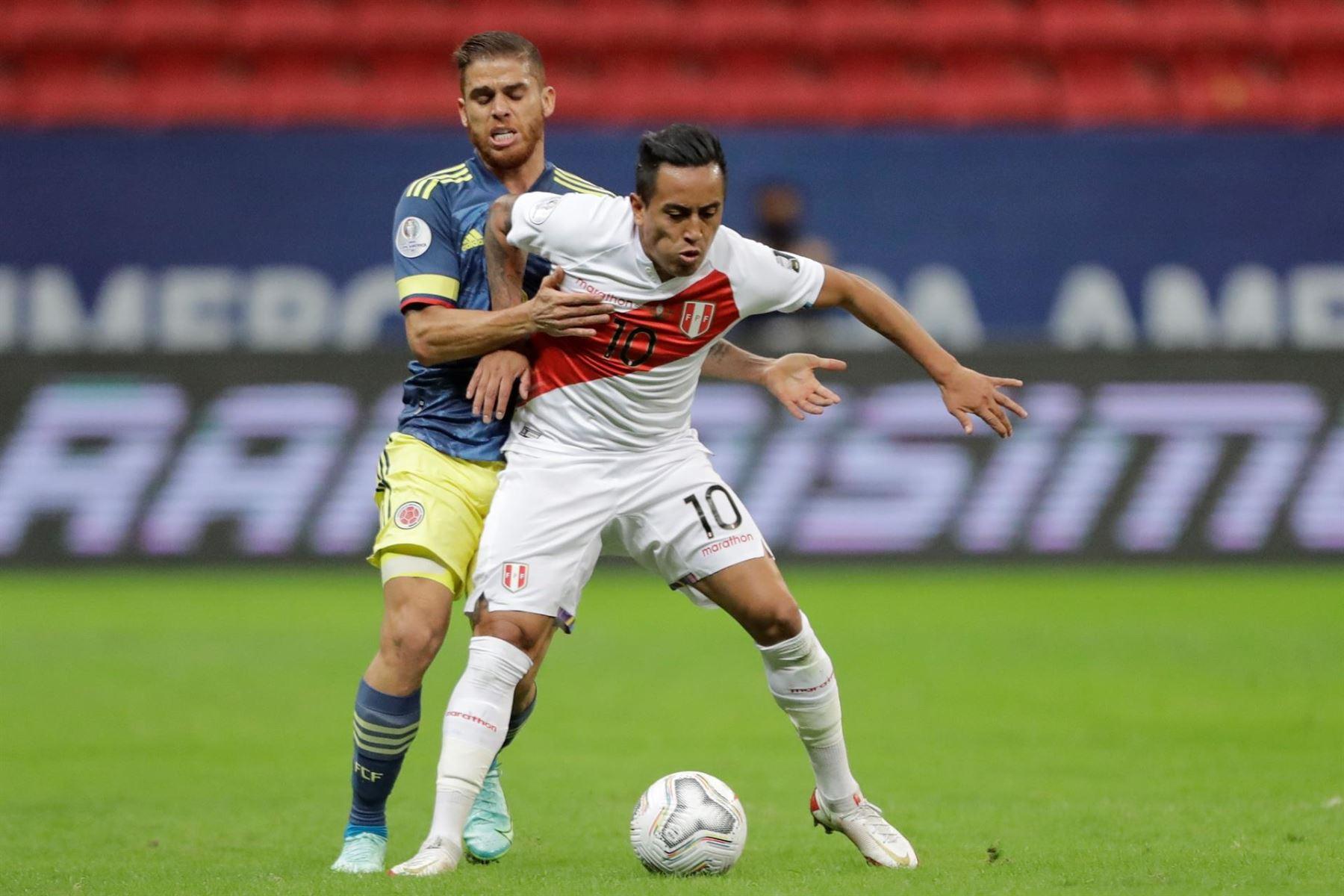 Copa América: Perú empata 2-2 con Colombia en el segundo tiempo