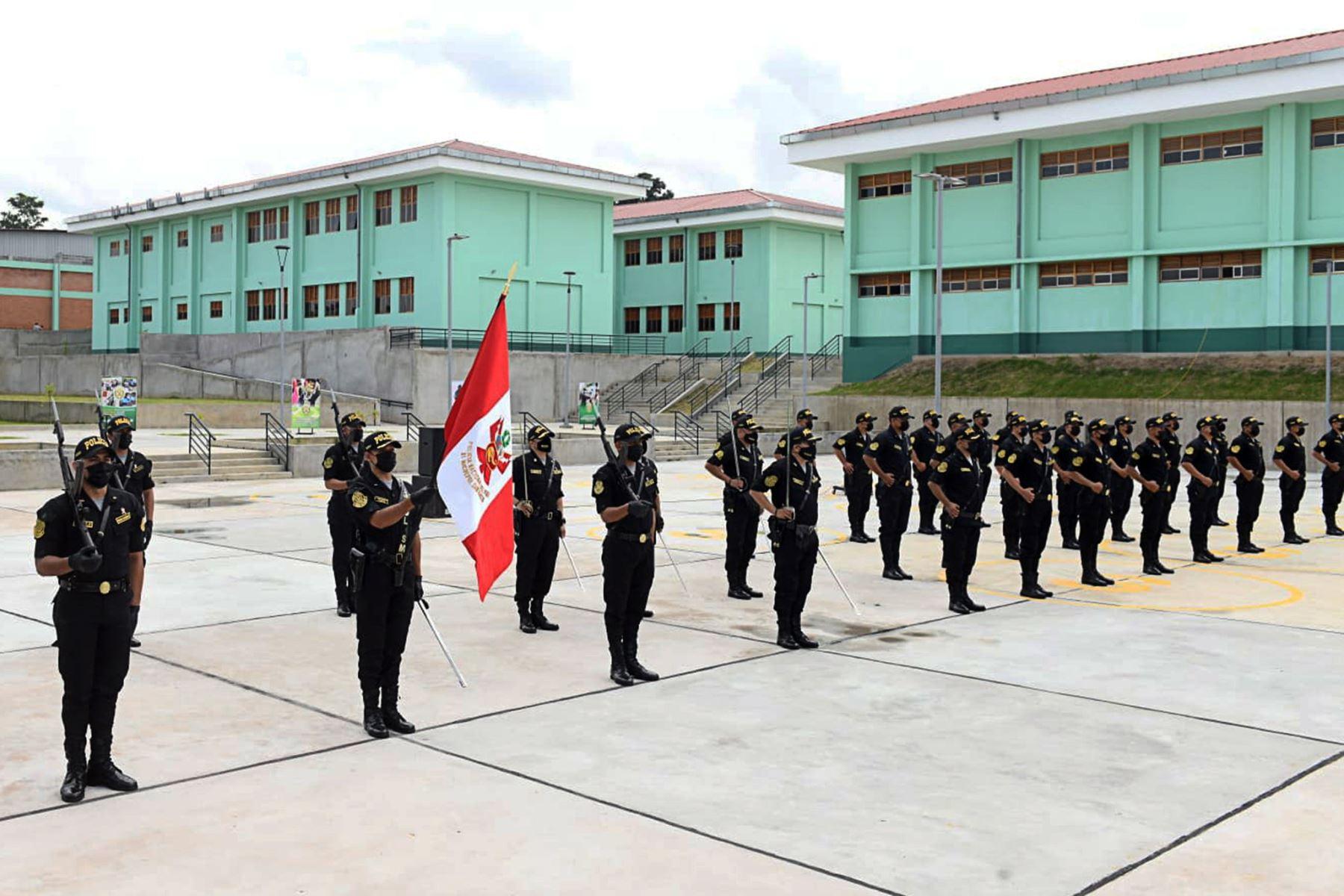 Inauguran moderna infraestructura de la Escuela de Suboficiales de Tarapoto