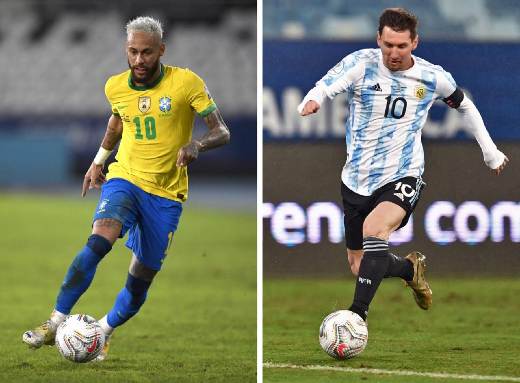 Messi y Neymar estarán frente a frente en la gran final soñada de la Copa América 2021