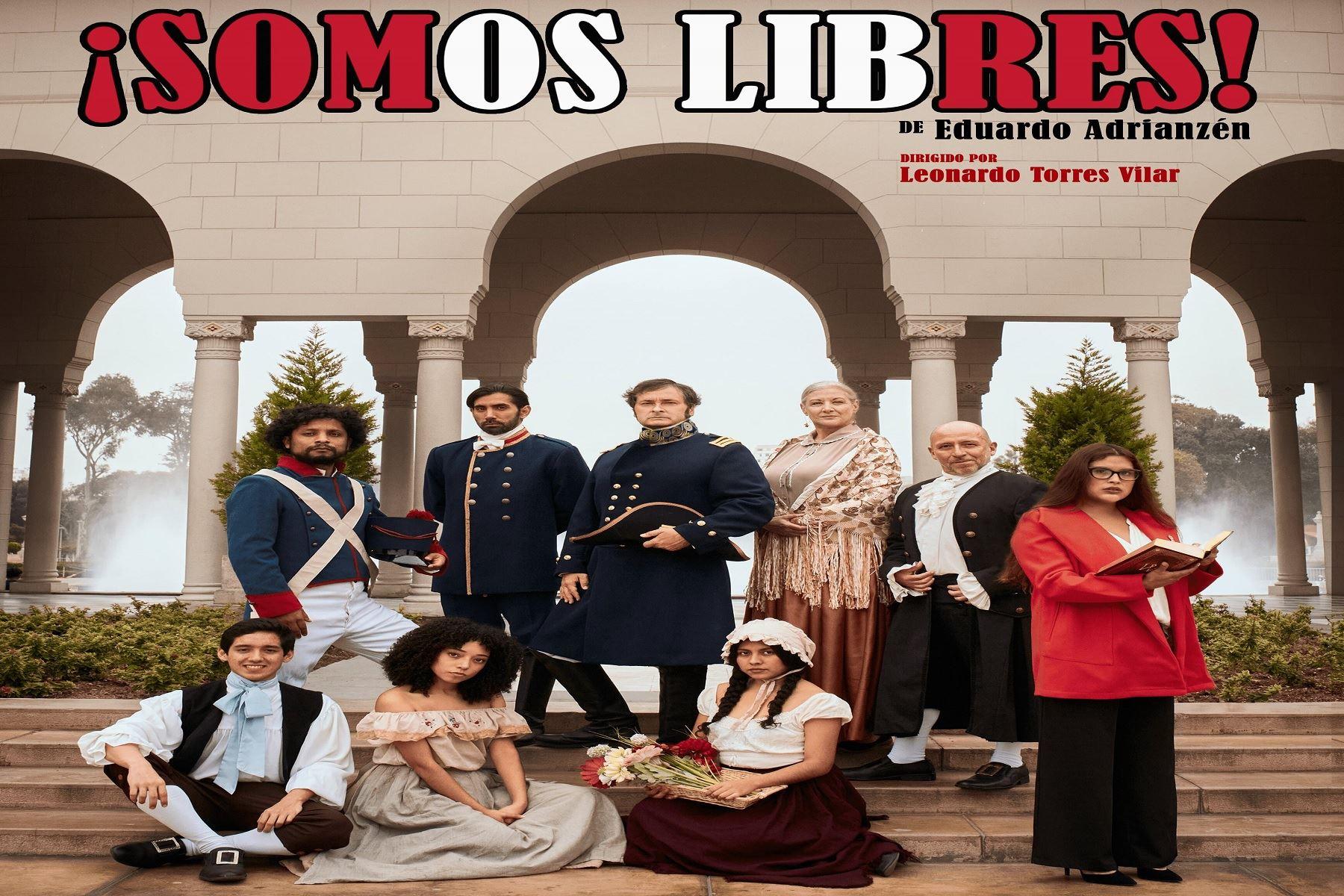 El teatro presencial regresa con la comedia ¡Somos Libres! este 15 de julio