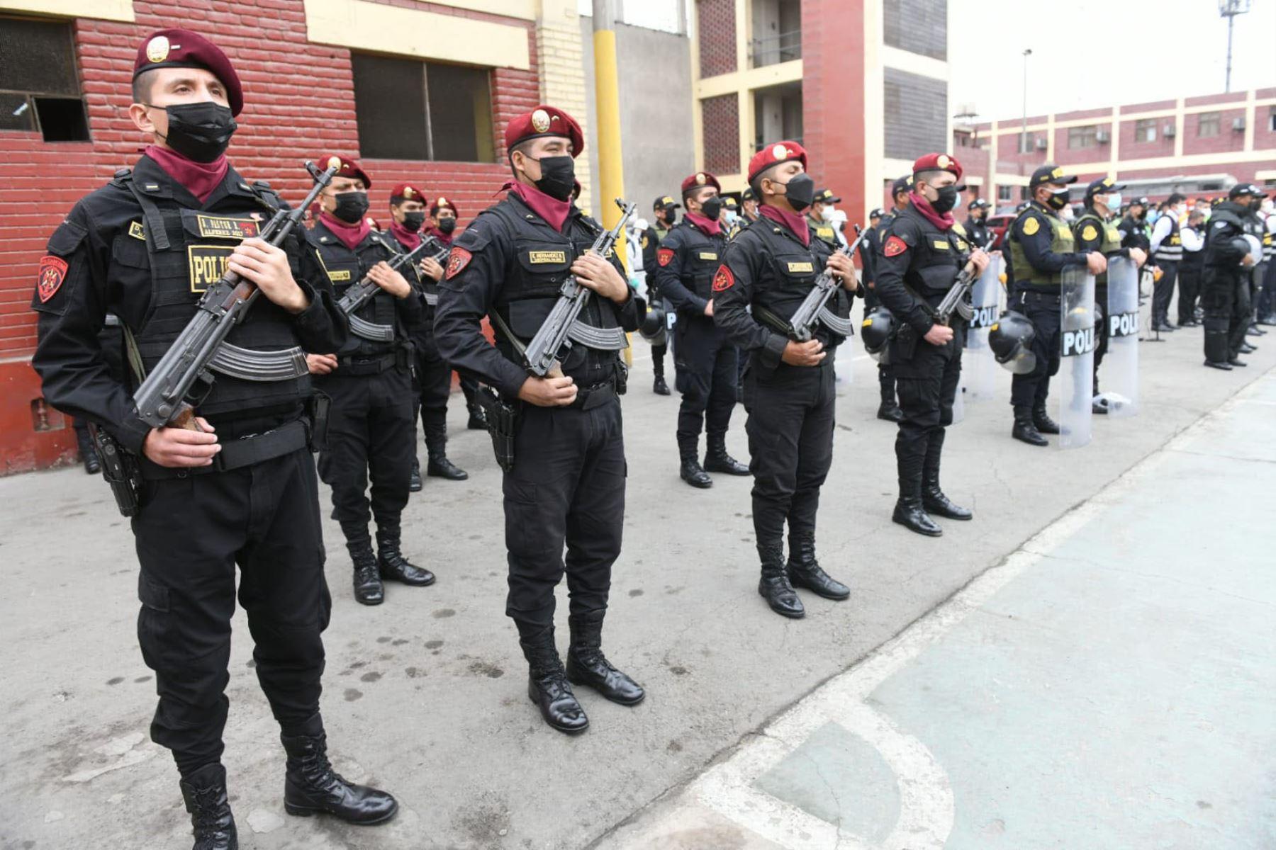 Fiestas Patrias: PNP cerrará las calles del centro de Lima por actividades oficiales