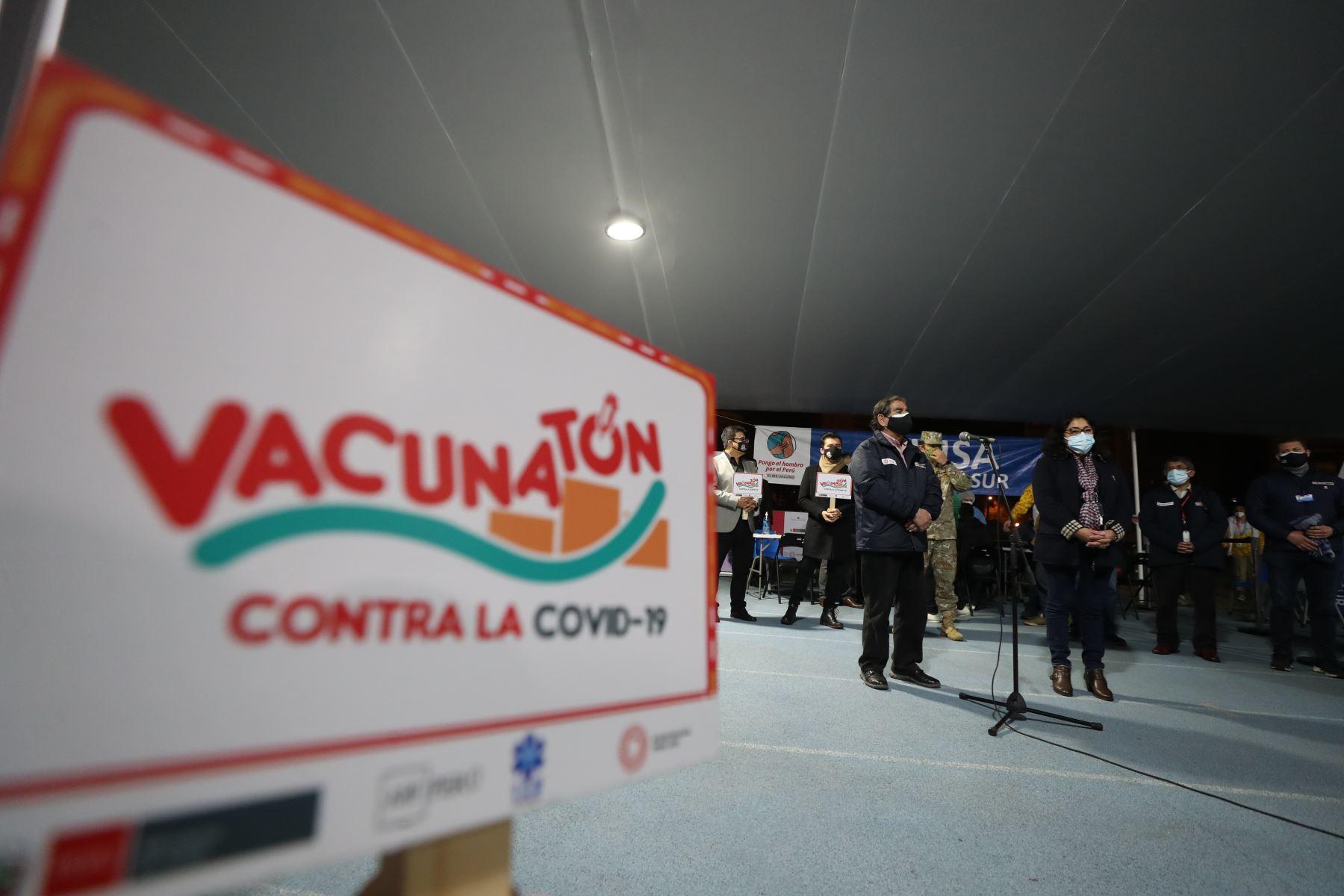 Jefa del Gabinete clausurará esta noche segunda vacunatón