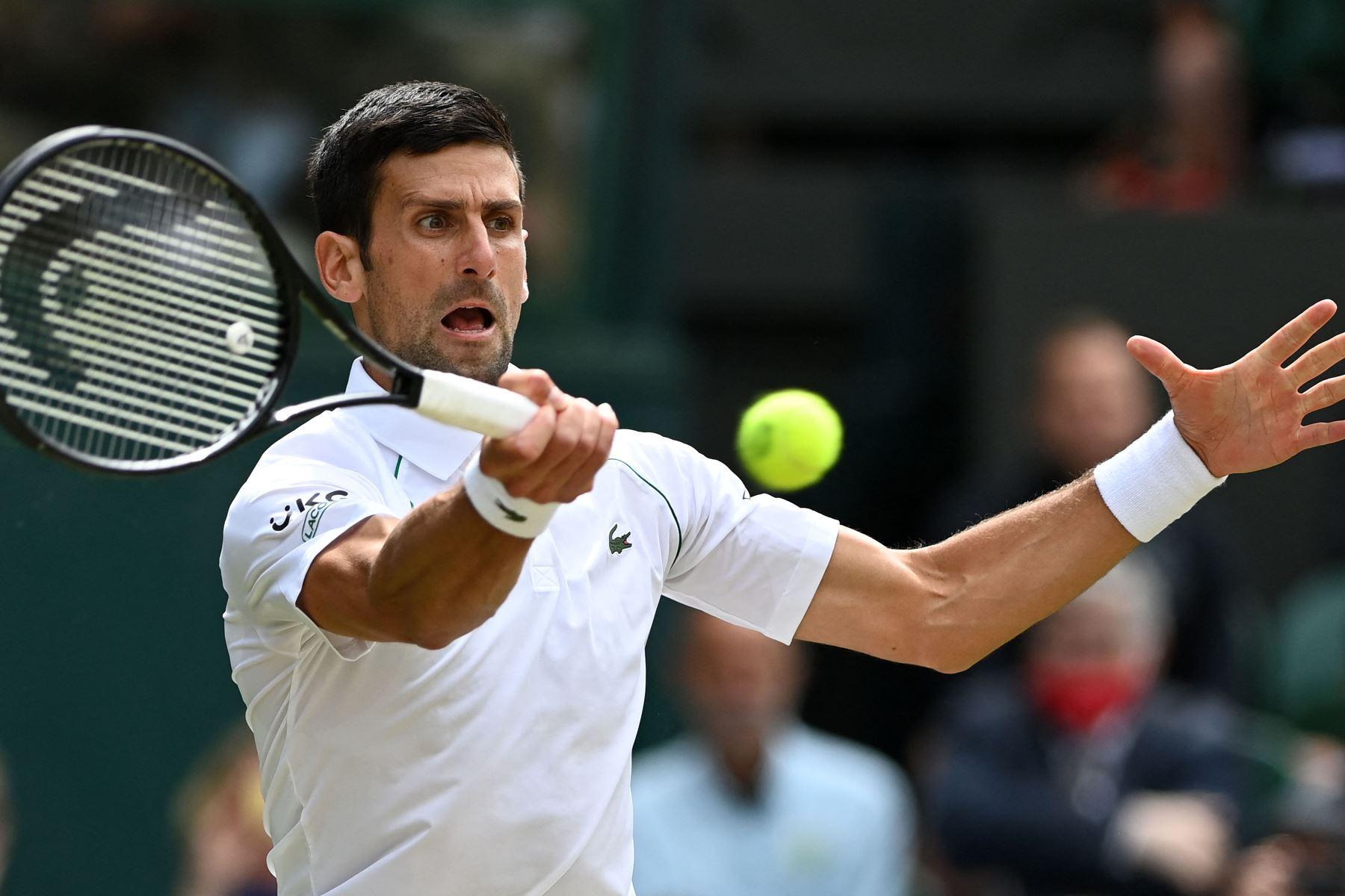Novak Djokovic anuncia su participación en los juegos de Tokio
