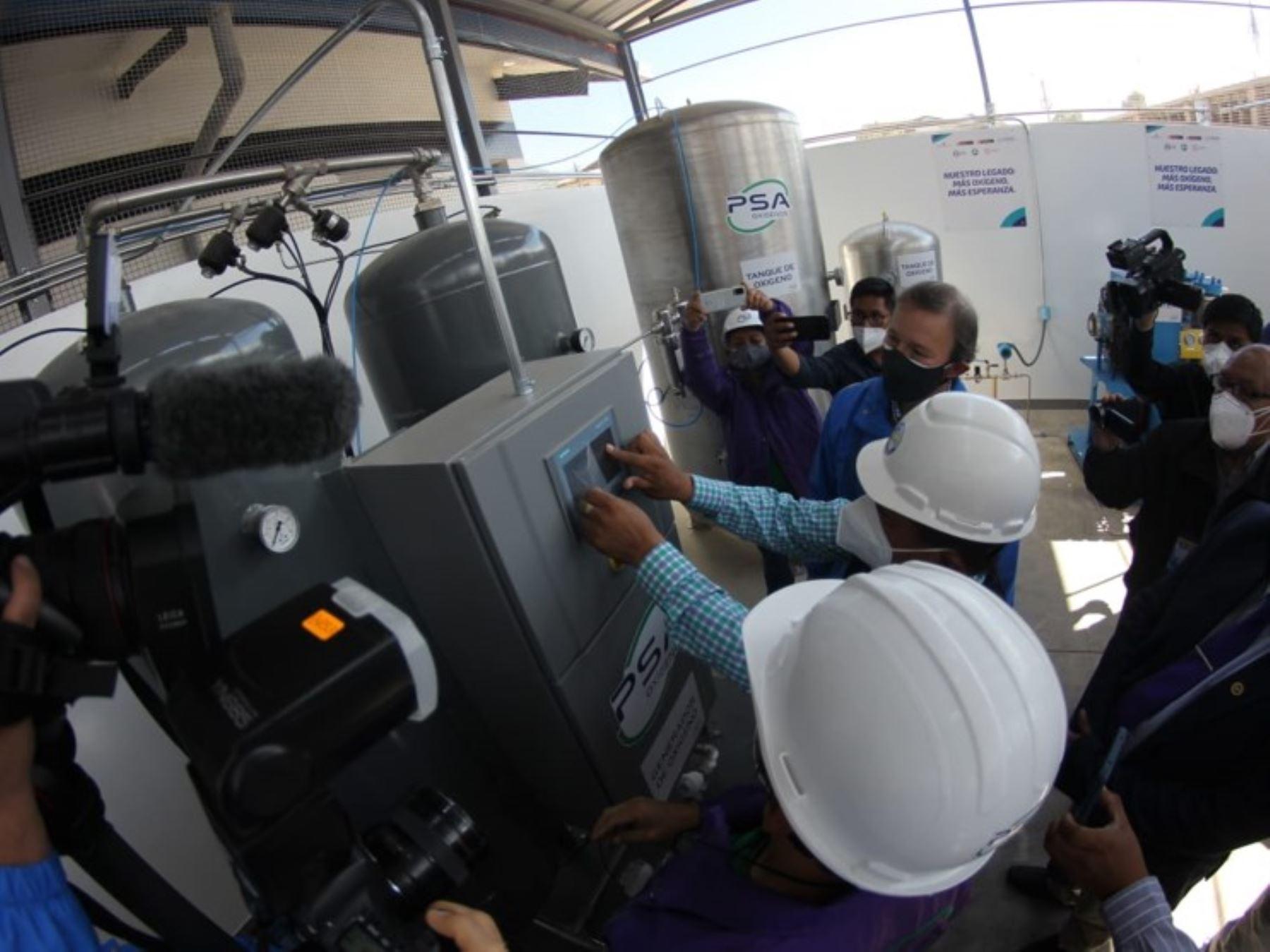Pasco: nueva planta de oxígeno ya funciona para beneficio de pobladores de Oxapampa