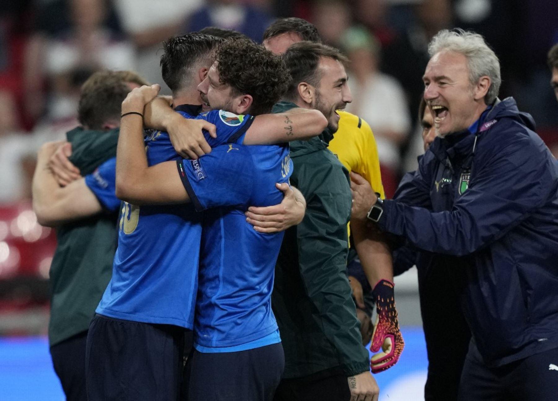 Italia se coronó campeón de la Eurocopa al derrota 3-2 por penales a Inglaterra en Wembley