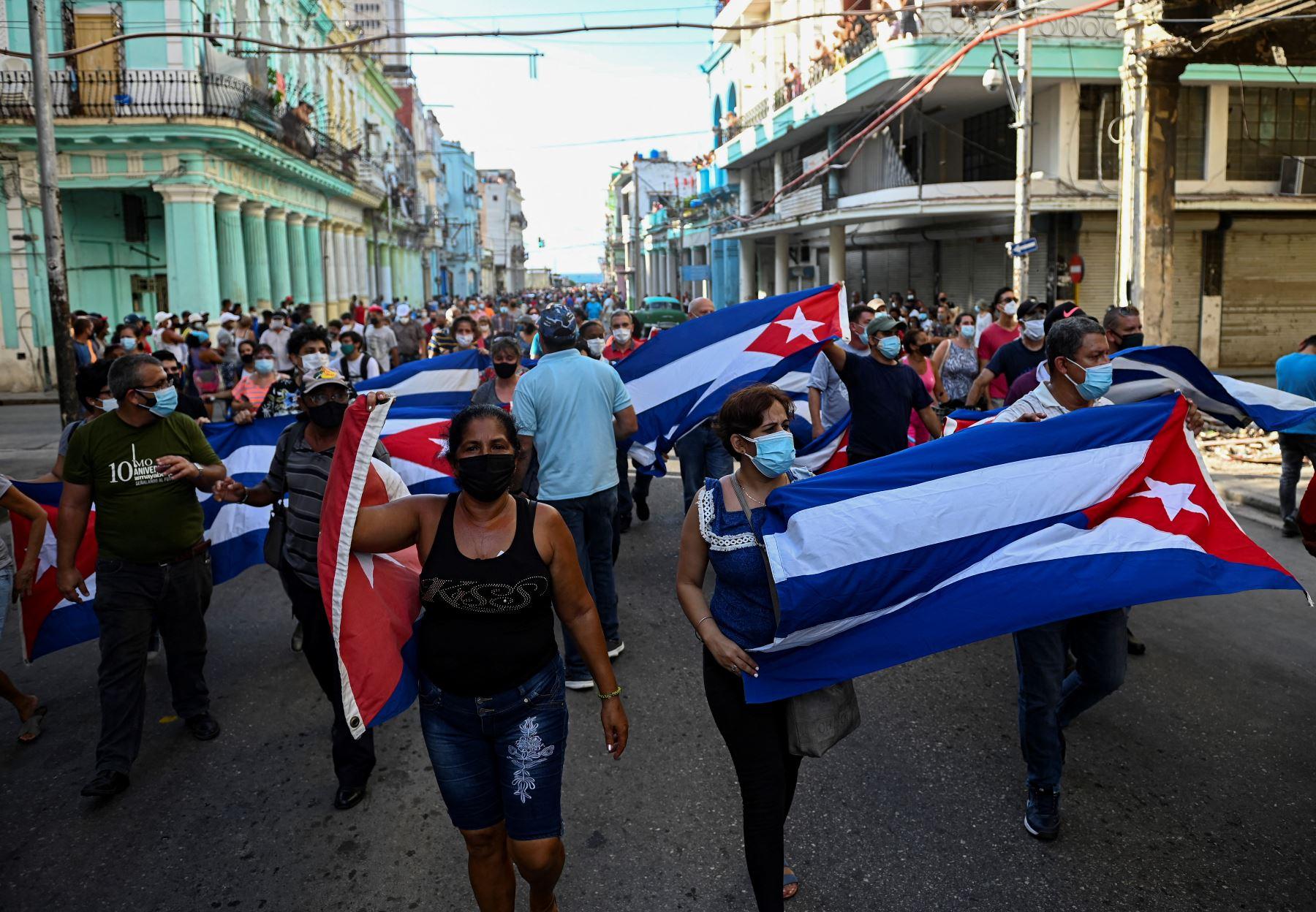 Cuba: estallan protestas en La Habana y diversas ciudades