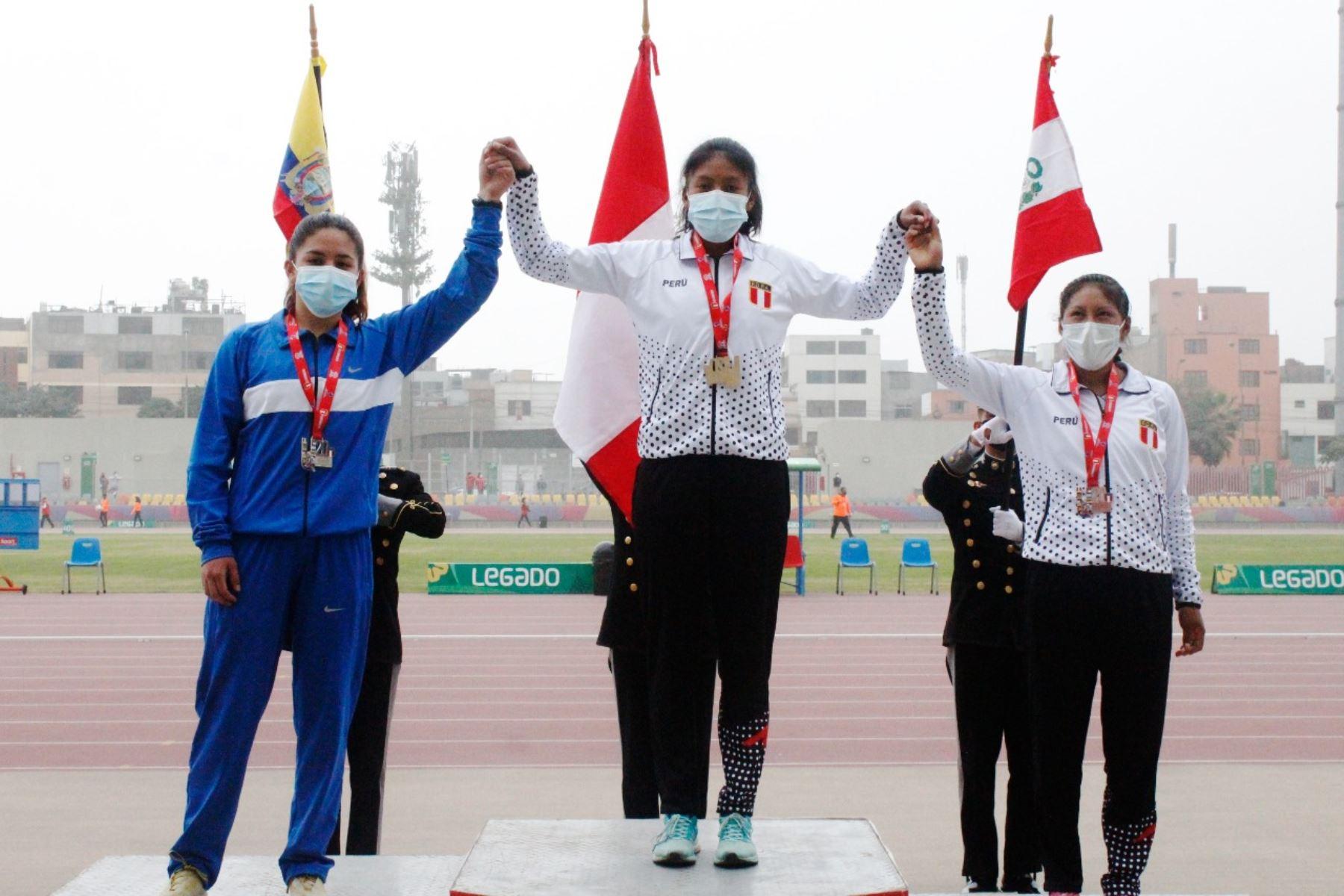 Perú cosechó siete medallas en el Sudamericano de Atletismo U20