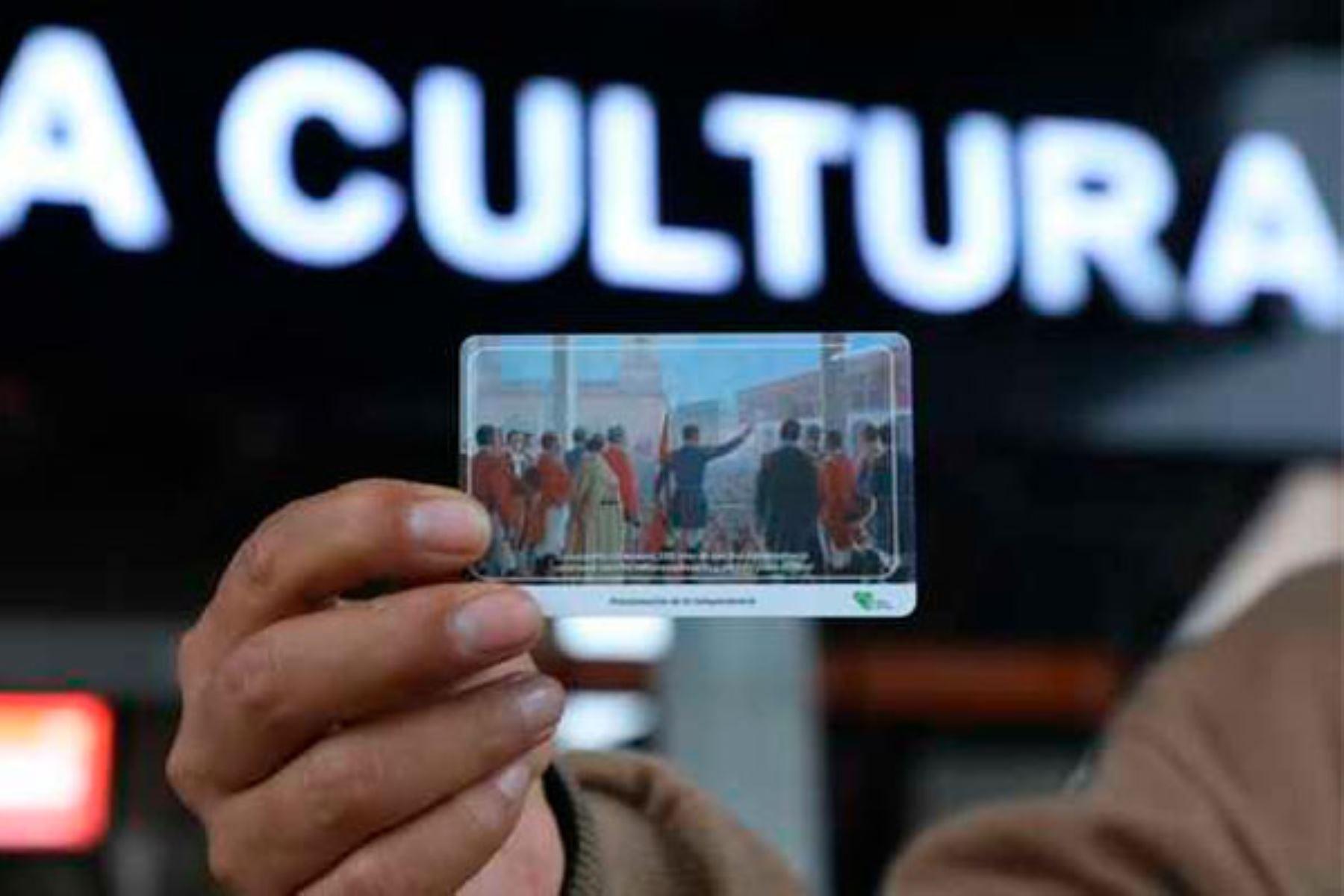 Están disponibles tres diseños distintos de tarjetas coleccionables. Foto: ANDINA/MTC