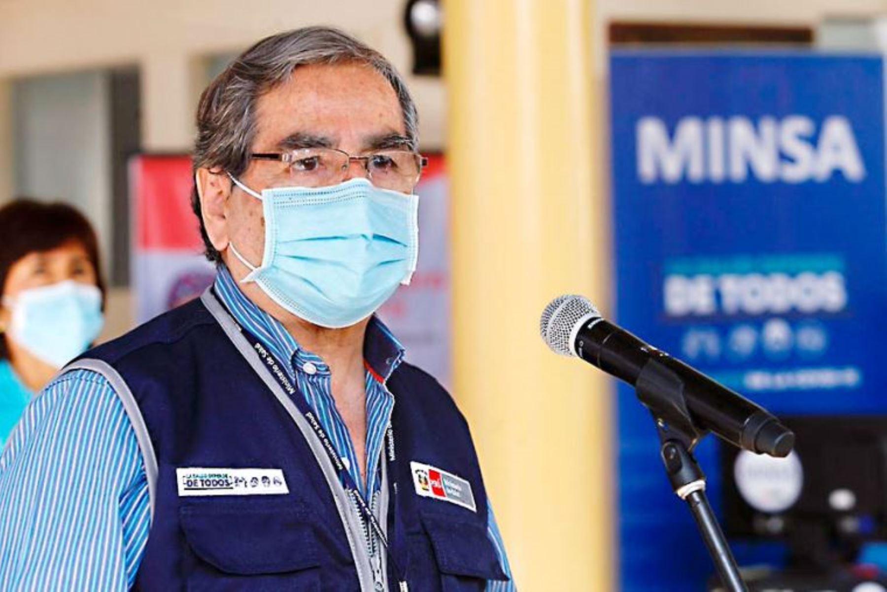 Ministro Ugarte: plan nacional de vacunación tendrá continuidad y no sufrirá retrocesos