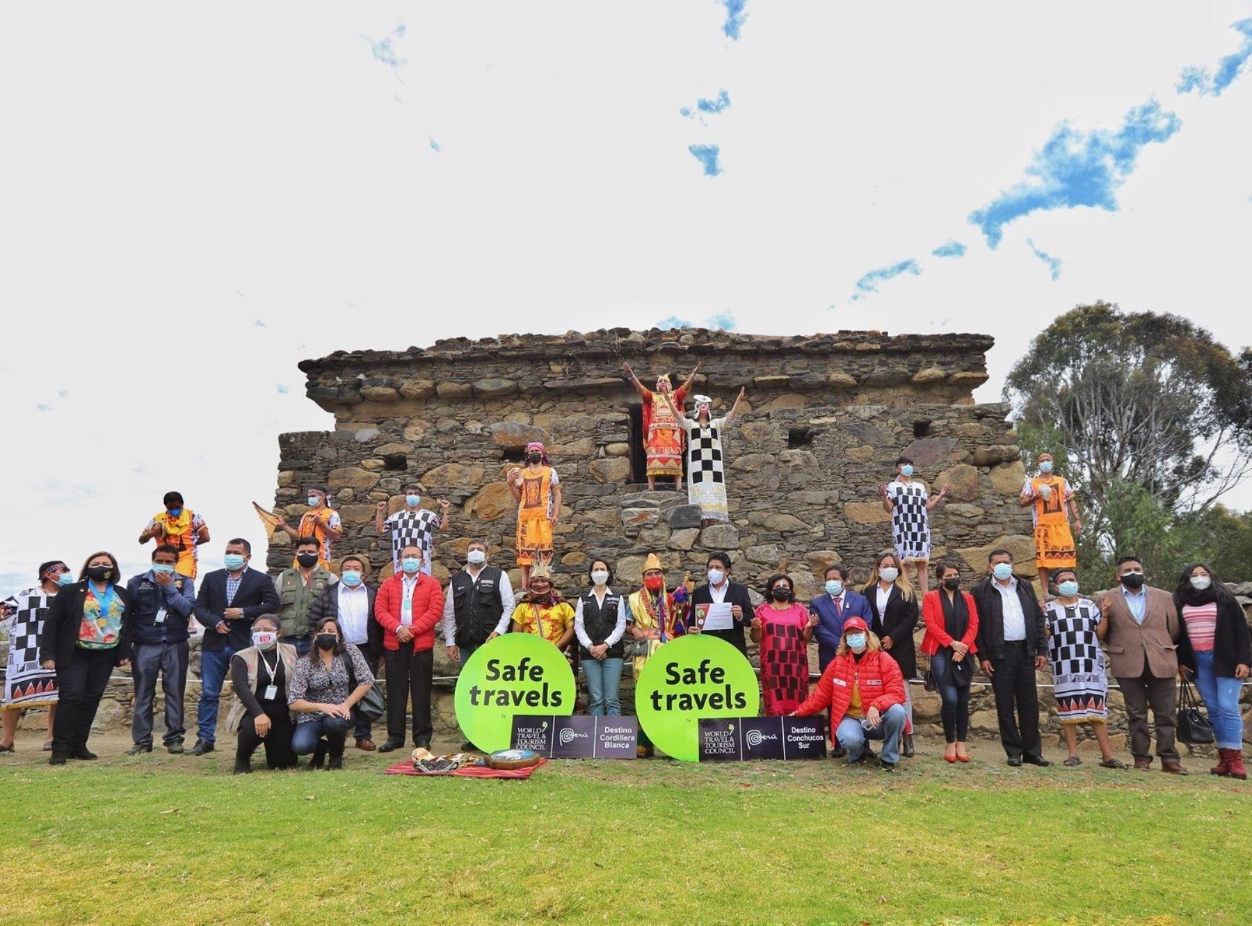 Áncash: la Cordillera Blanca y Conchucos Sur reciben el sello Safe Travels