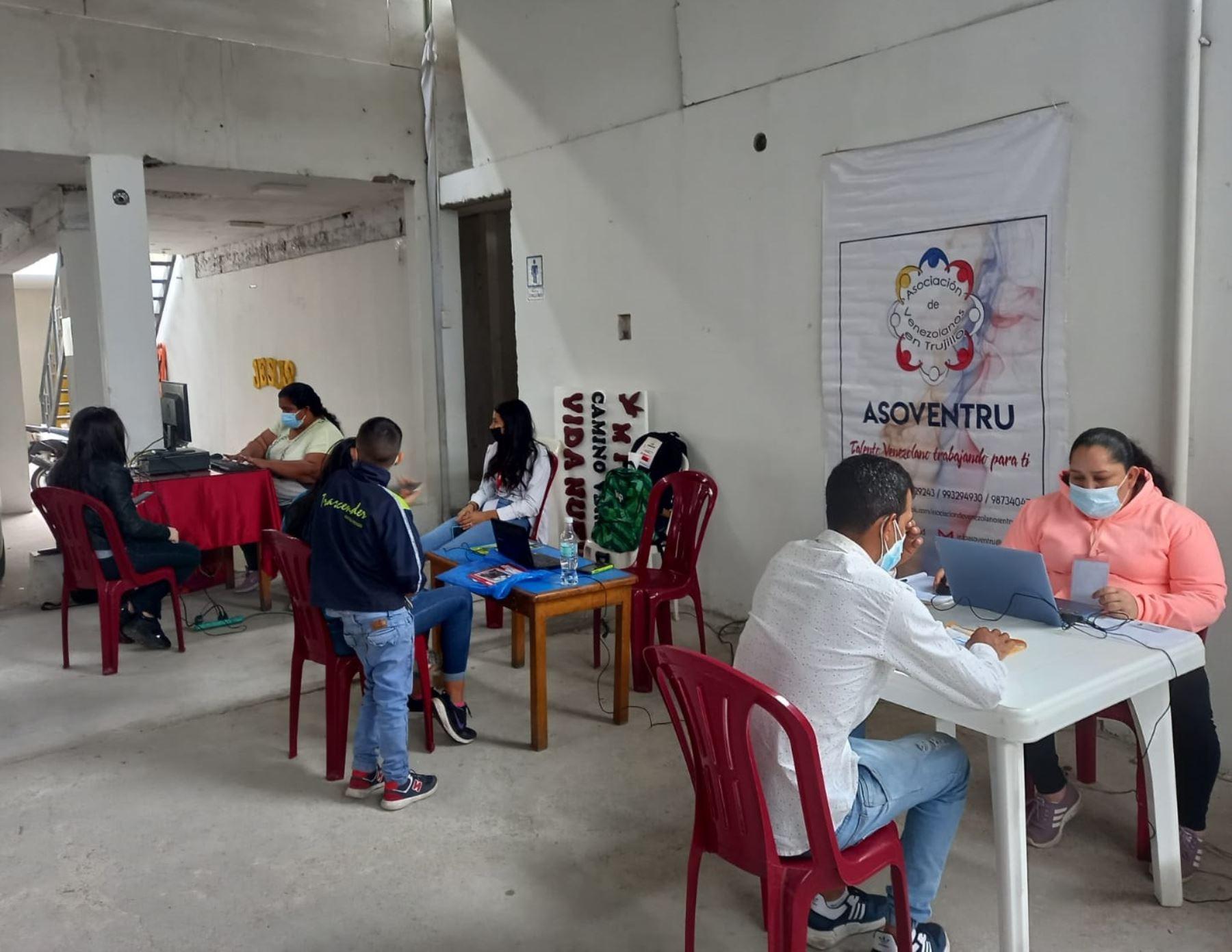 Trujillo: organizan jornada de regulación migratoria para ciudadanos venezolanos