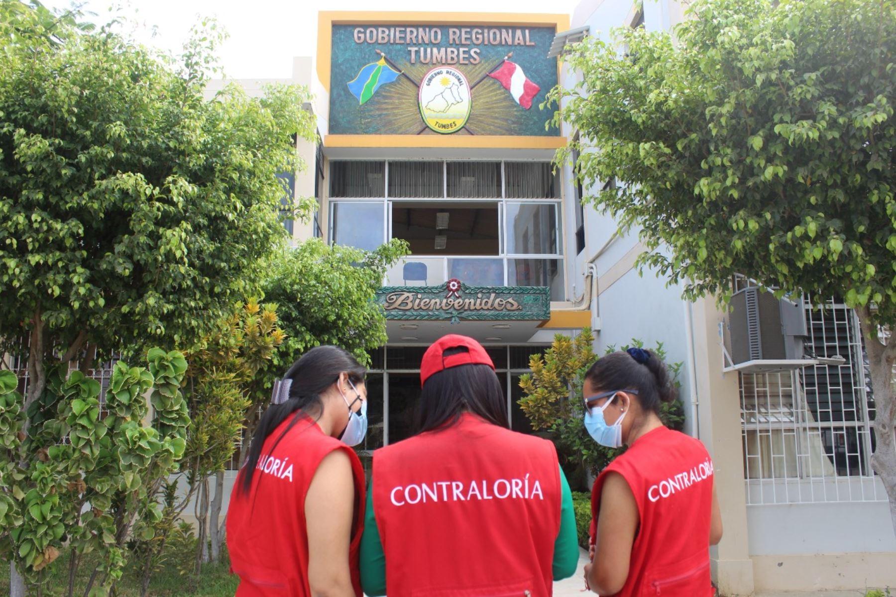 Tumbes: Contraloría detecta transferencias financieras irregulares en Gobierno Regional