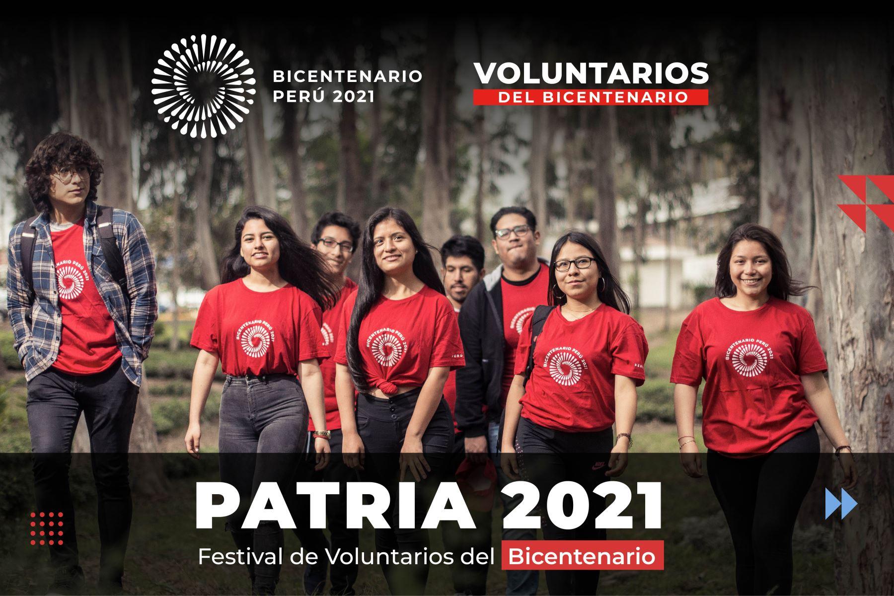 Patria, el festival peruano más grande de voluntarios del Bicentenario, vuelve mañana