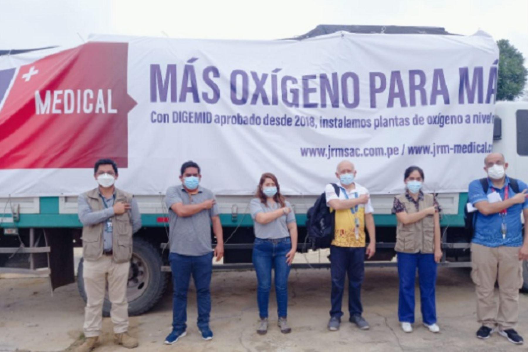 La planta de oxígeno es de origen francés y tiene una pureza de 96 %, lo cual la convierte en una poderosa herramienta para afrontar cualquier crisis sanitaria.