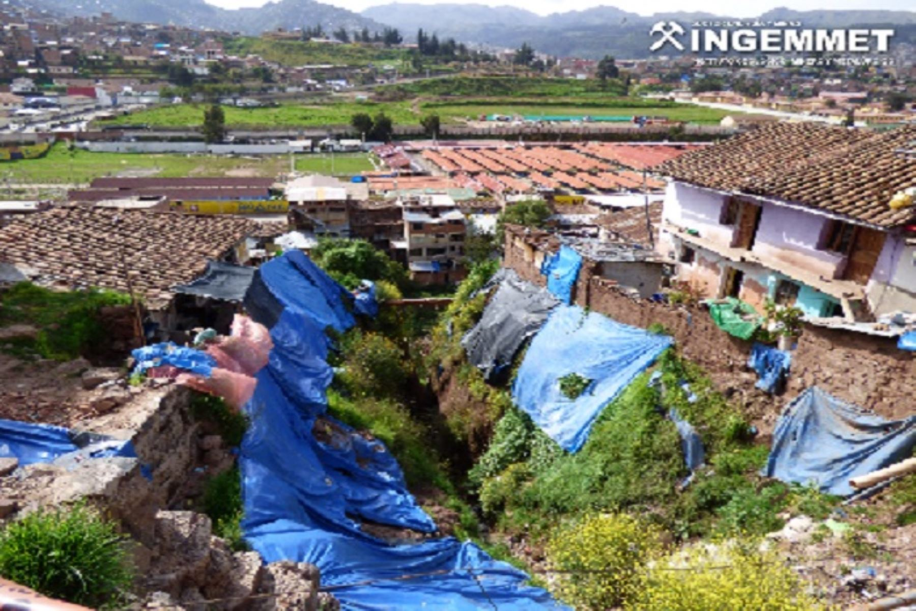 Ingemmet identifica 26 zonas críticas por peligros geológicos en Cusco