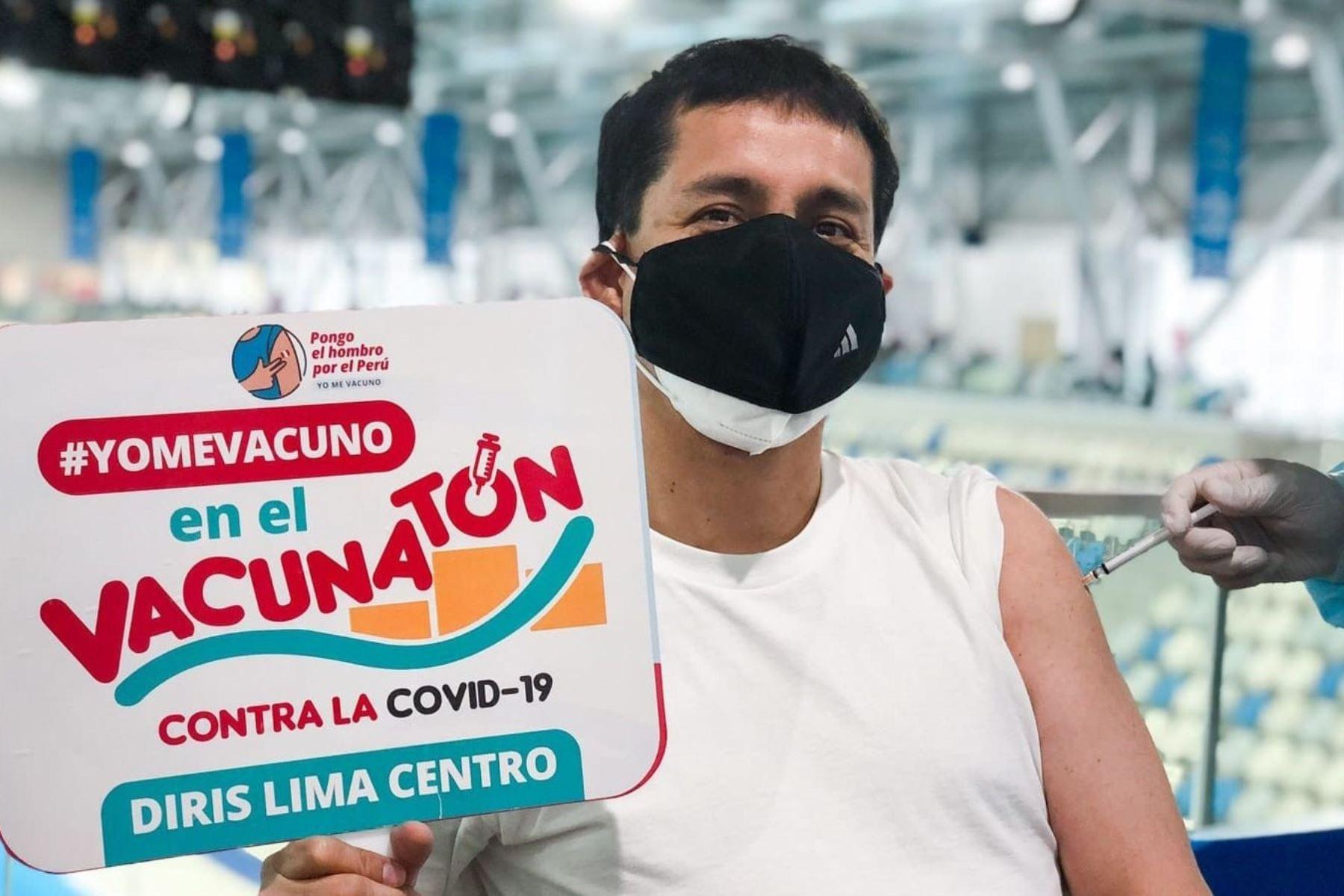 Covid-19: más de 69,000 dosis se aplicaron en distritos de Lima Centro en primer Vacunatón
