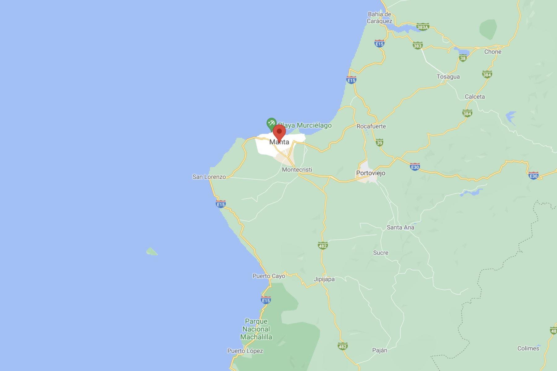 Sismos de magnitudes 4,4 y 3,6 frente a las costas de Ecuador