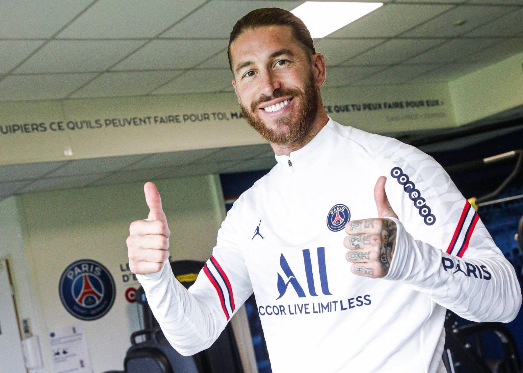 """Sergio Ramos: \""""Me gustaría que Mbappé se quedara en el PSG\"""""""
