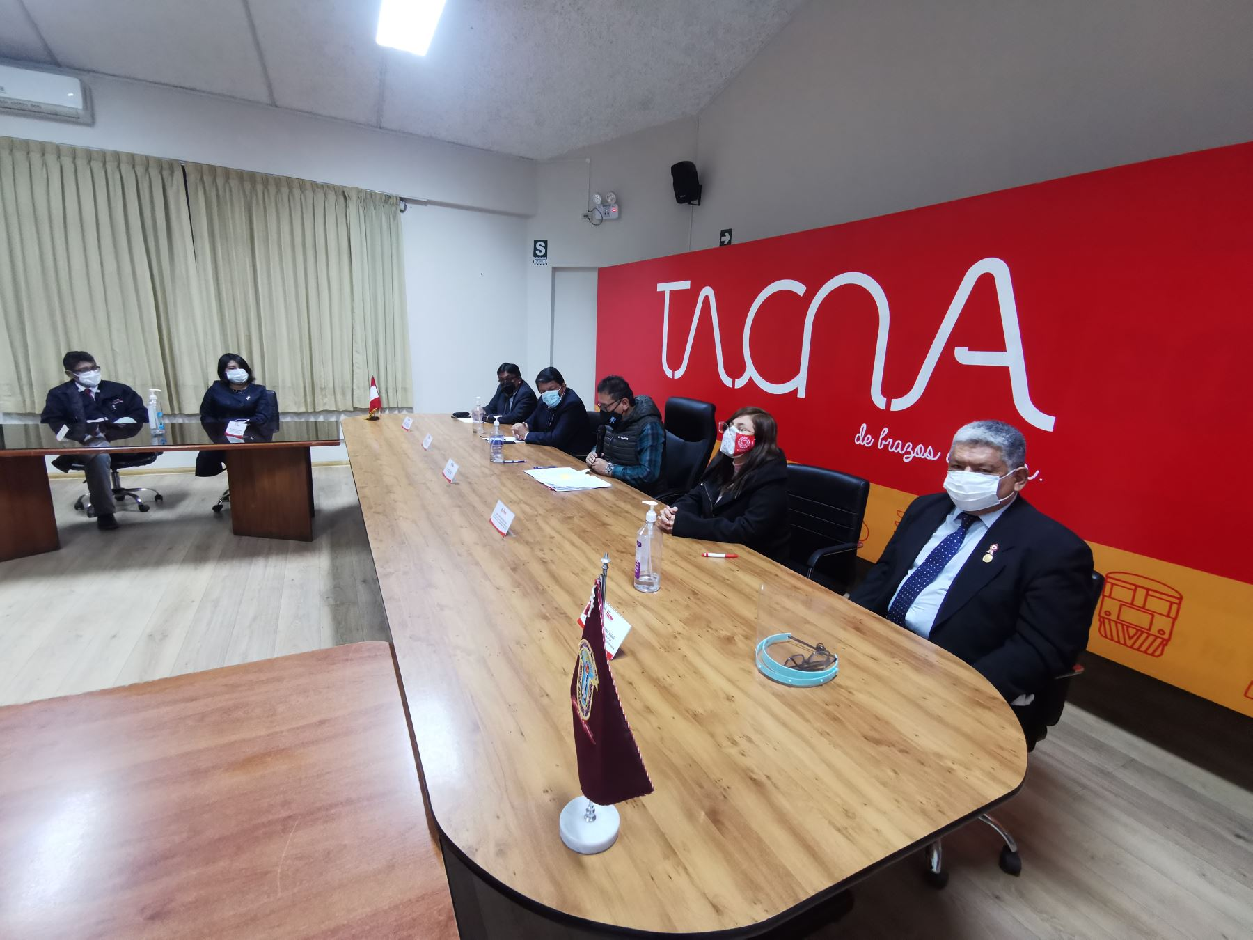 Proyecto Bicentenario suscribió convenio para recuperar Biblioteca Jorge Basadre en Tacna.